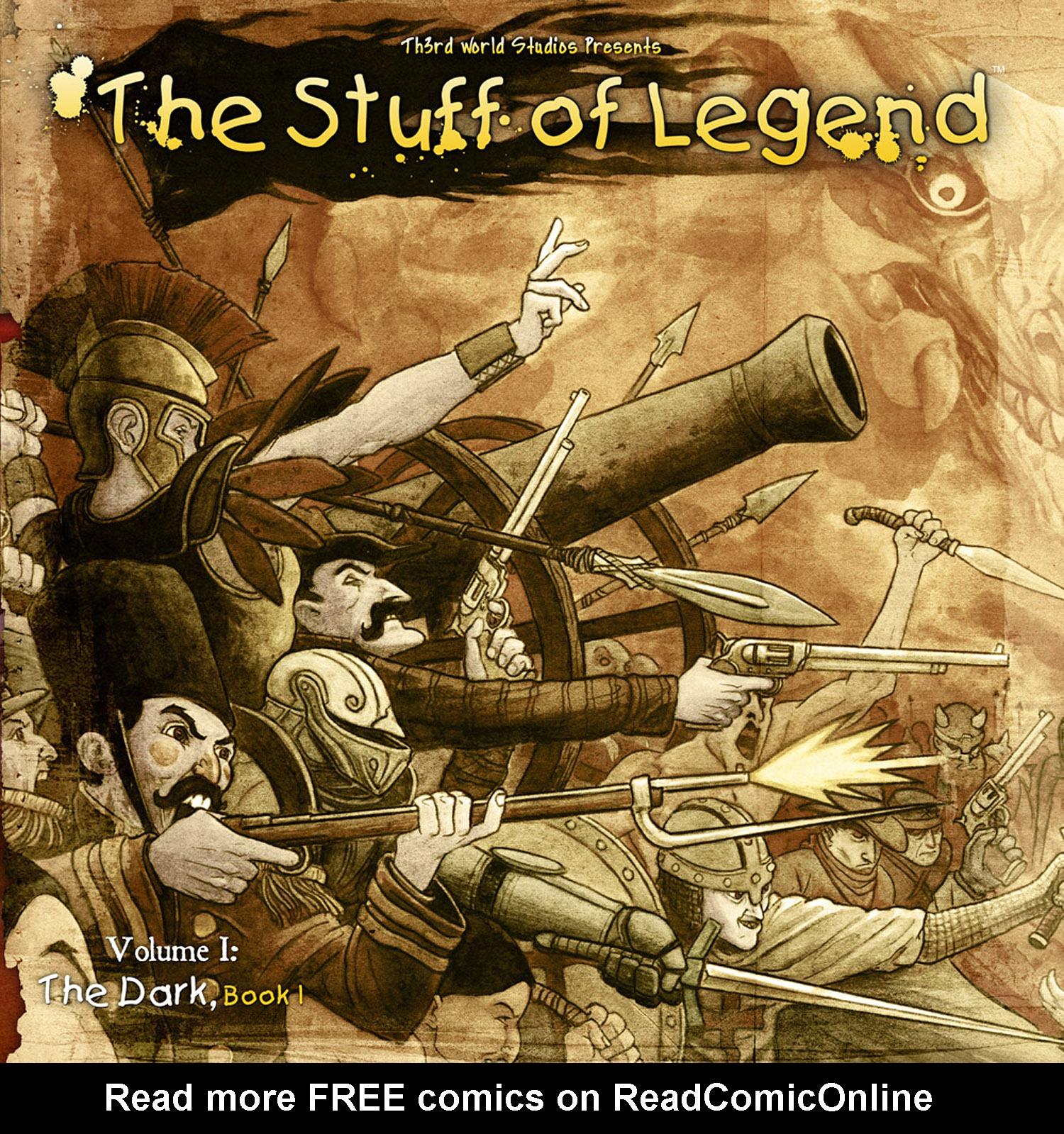 The Stuff of Legend: Volume I: The Dark 4 Page 1