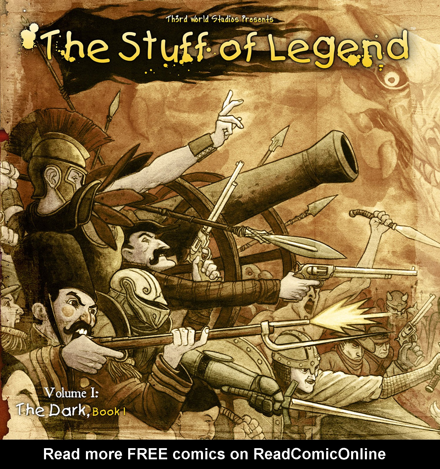 The Stuff of Legend: Volume I: The Dark issue 4 - Page 1
