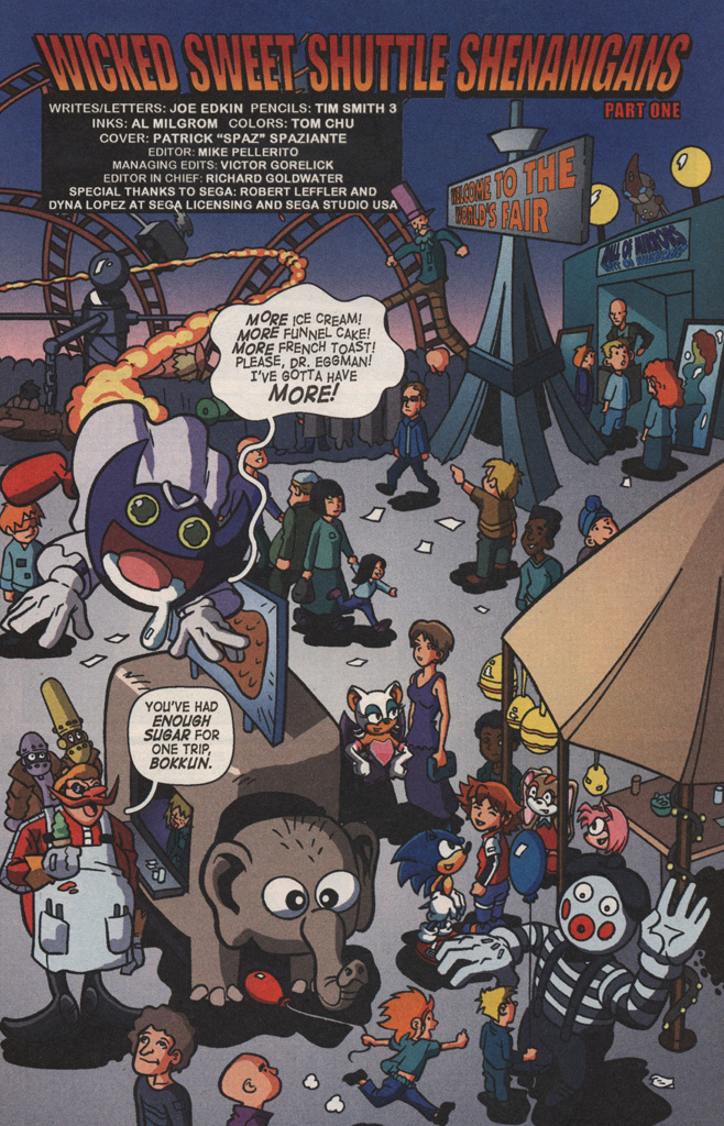 Read online Sonic X comic -  Issue #8 - 5