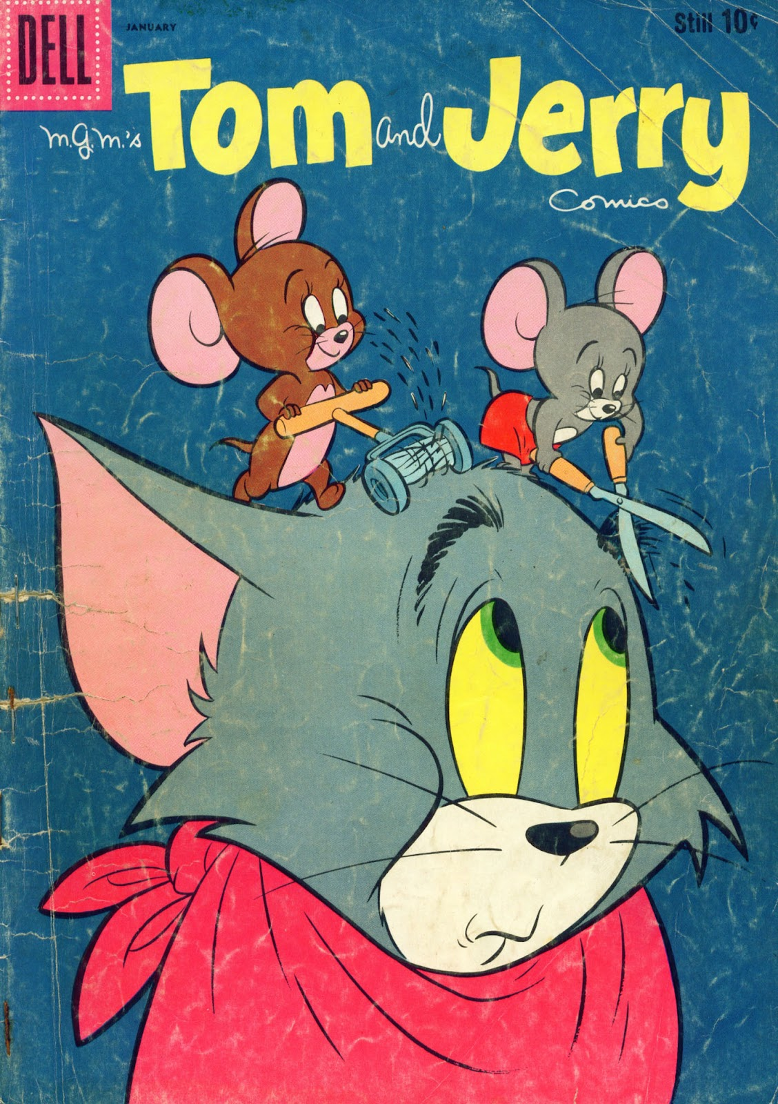 Tom & Jerry Comics issue 186 - Page 1