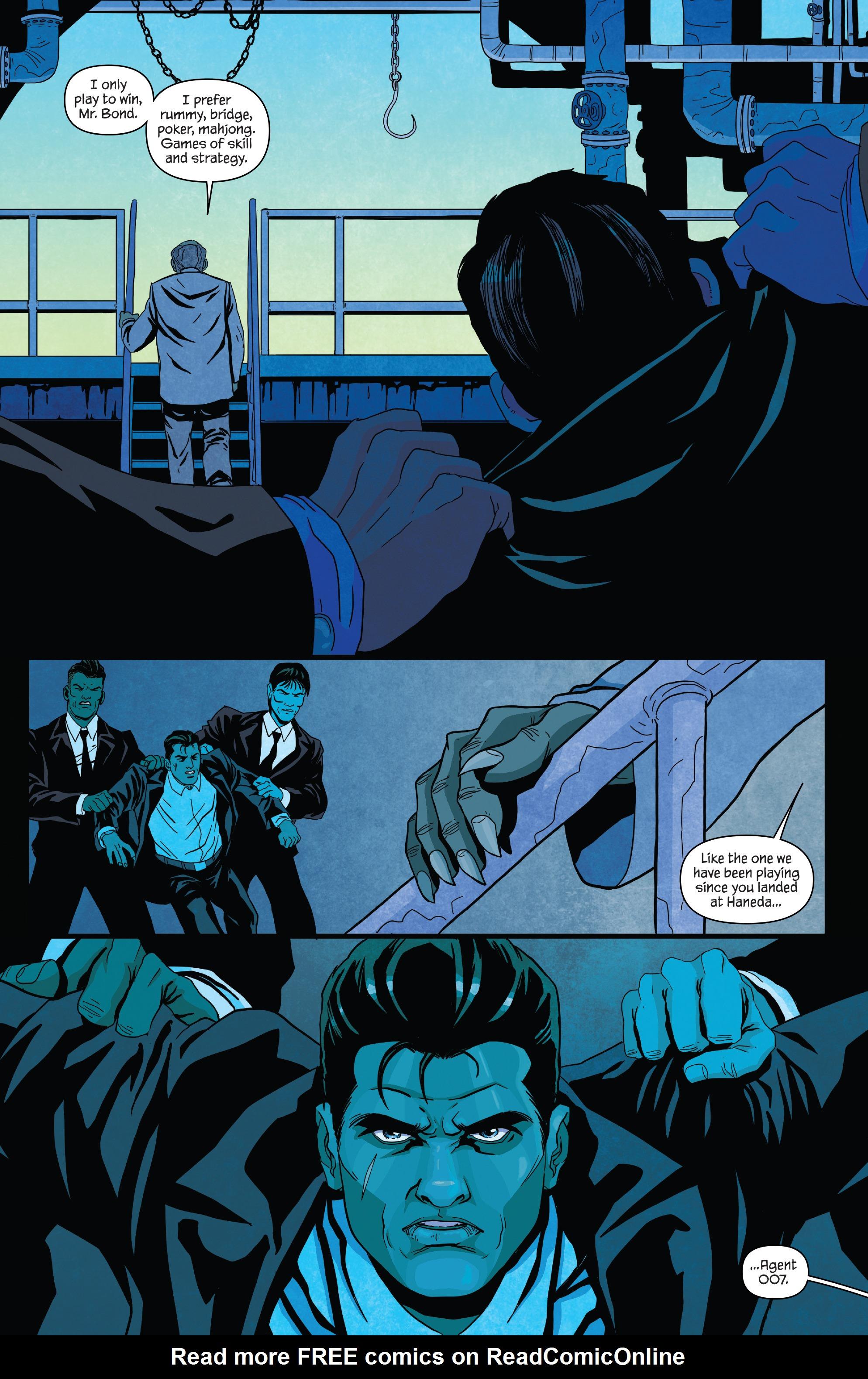 Read online James Bond (2017) comic -  Issue #2 - 13