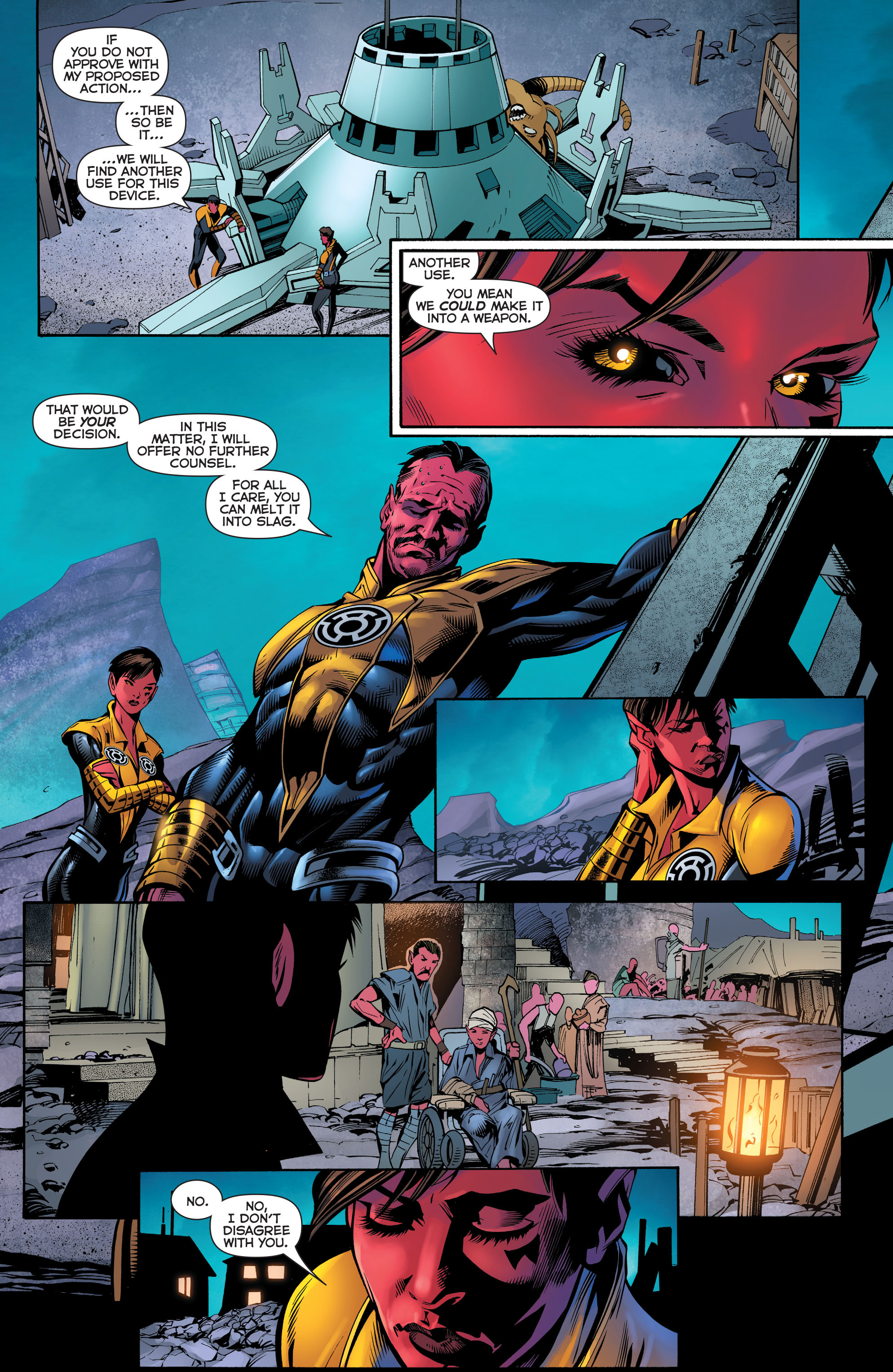 Read online Sinestro comic -  Issue #23 - 12