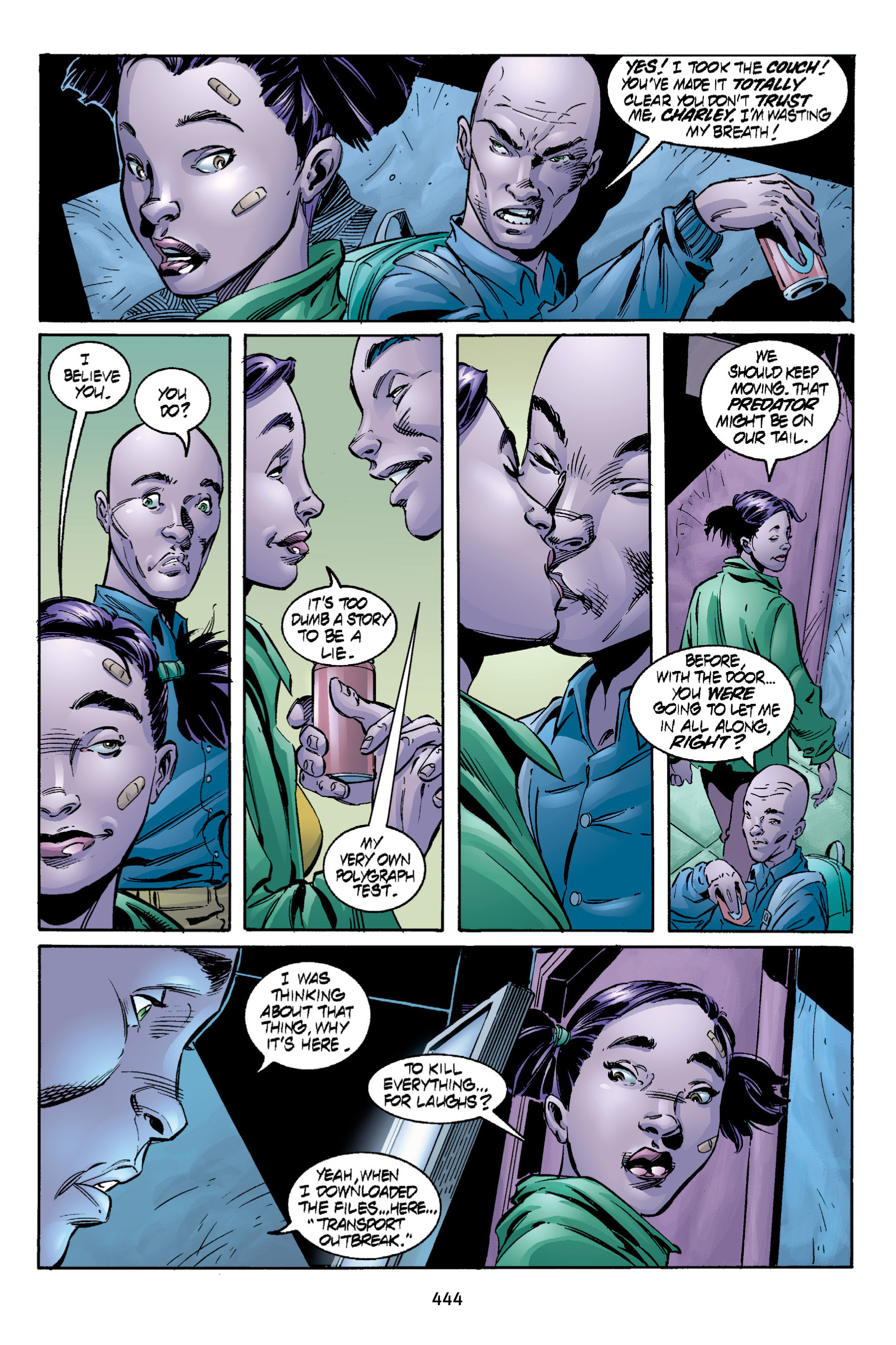 Read online Aliens vs. Predator Omnibus comic -  Issue # _TPB 2 Part 4 - 106