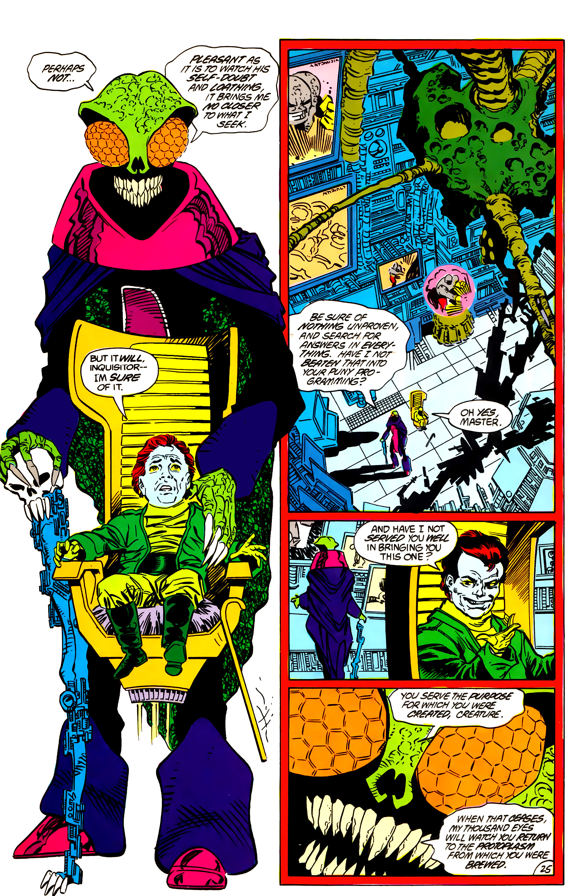 Legion of Super-Heroes (1984) 55 Page 25