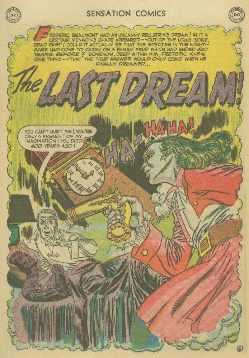 Read online Sensation (Mystery) Comics comic -  Issue #107 - 13