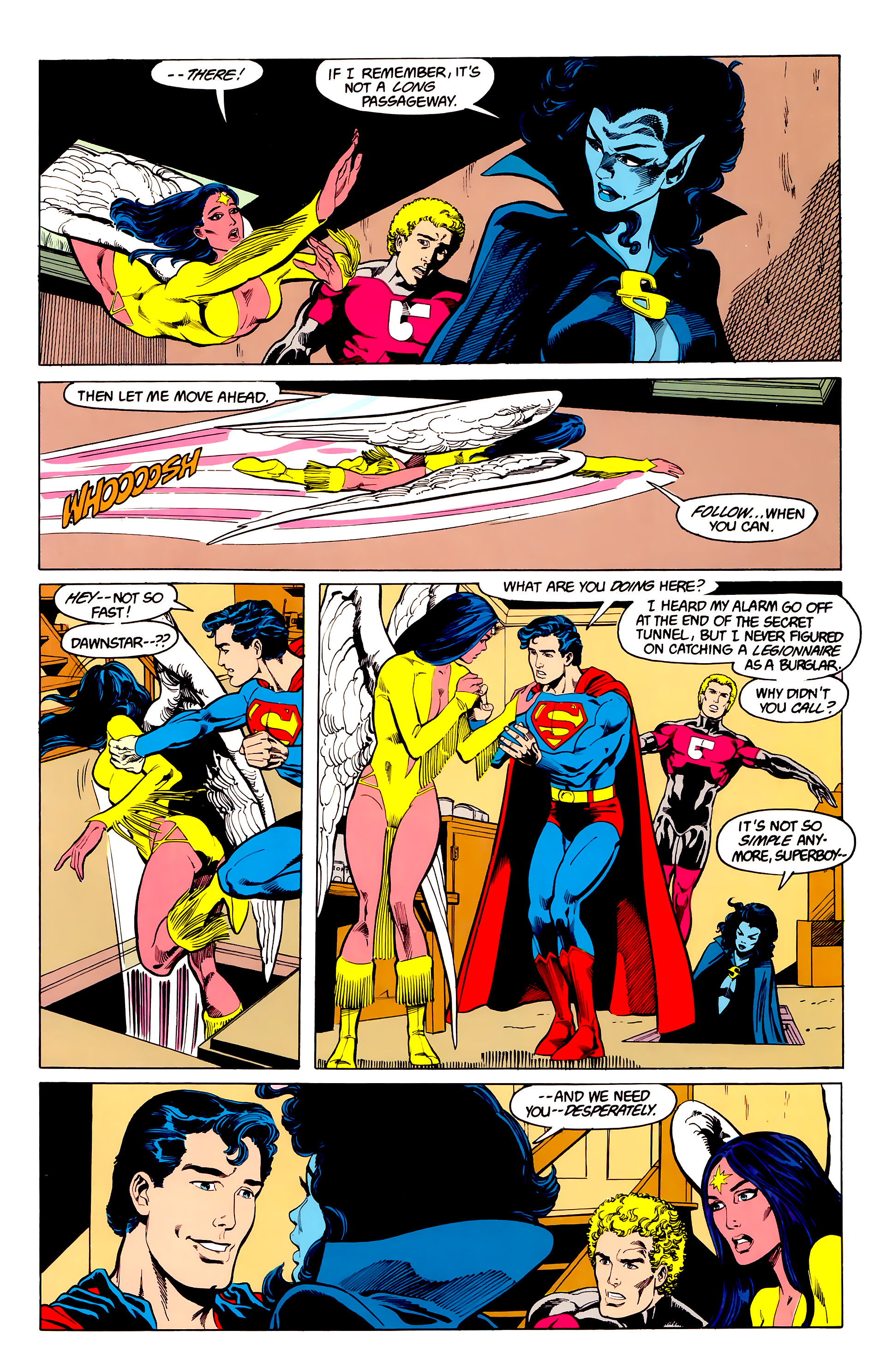 Legion of Super-Heroes (1984) 23 Page 22