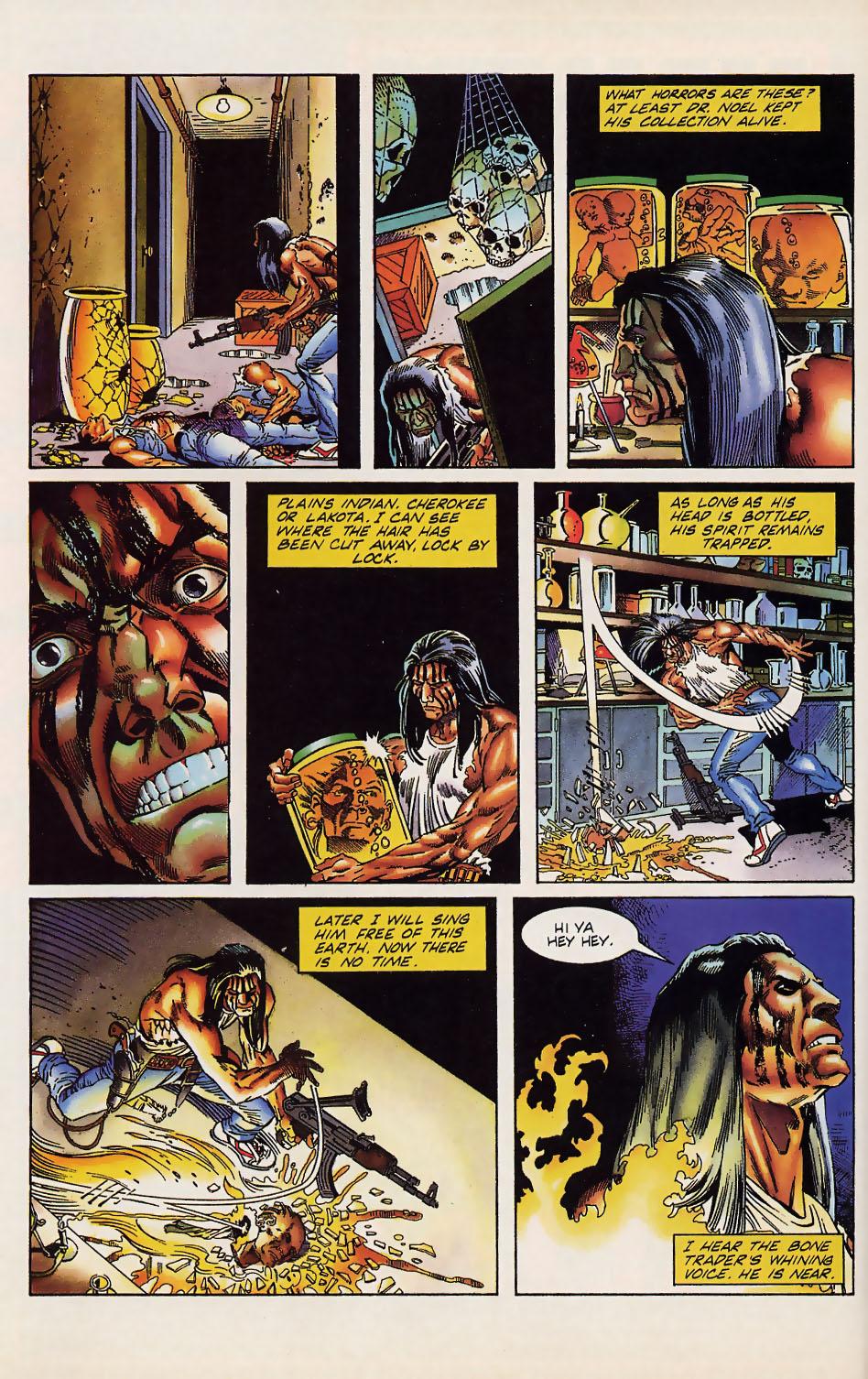 Read online Turok, Dinosaur Hunter (1993) comic -  Issue #12 - 13