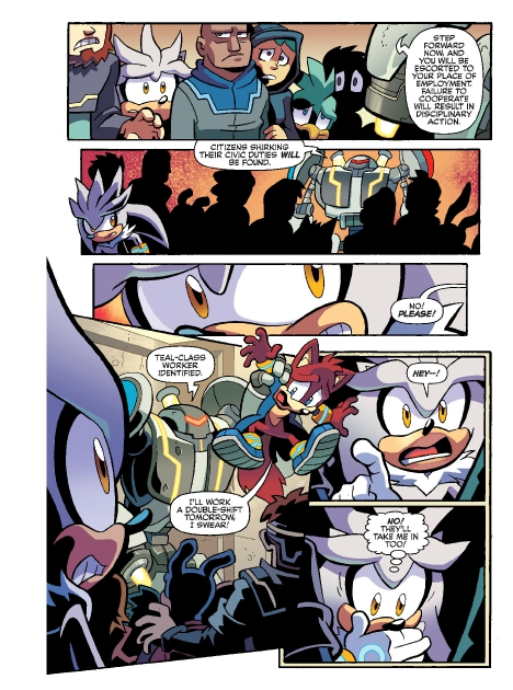 Read online Sonic Comics Spectacular: Speed of Sound comic -  Issue # Full - 105