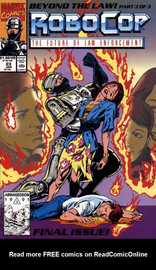 Read online Robocop (1990) comic -  Issue #23 - 1
