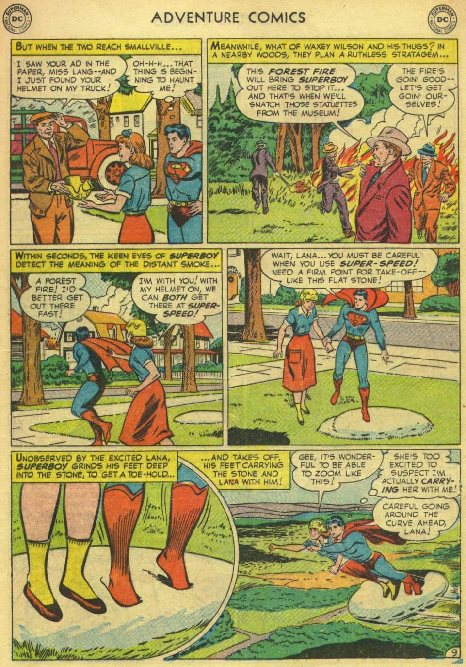 Read online Adventure Comics (1938) comic -  Issue #167 - 11