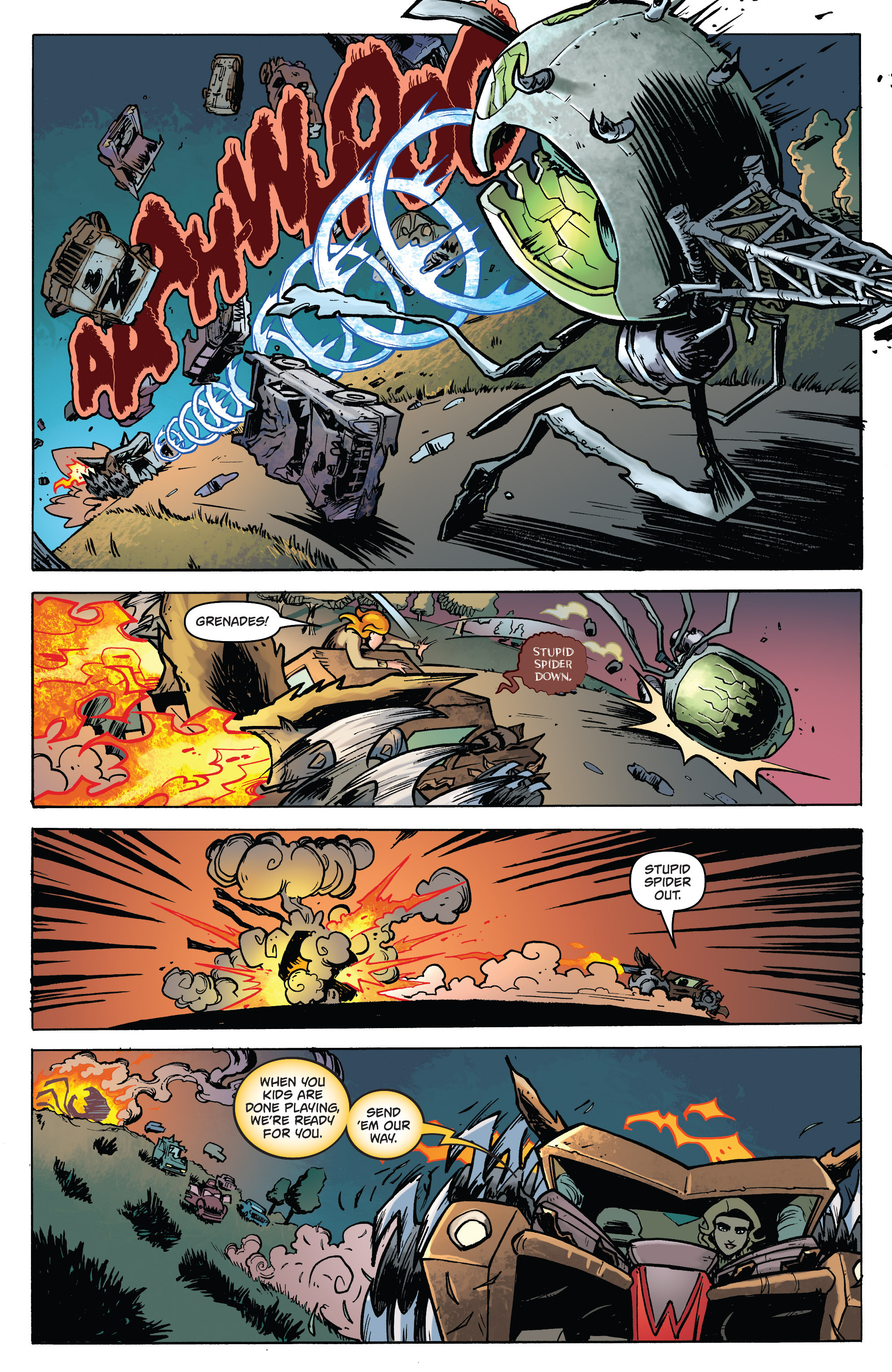Read online Monster Motors: The Curse of Minivan Helsing comic -  Issue #2 - 17