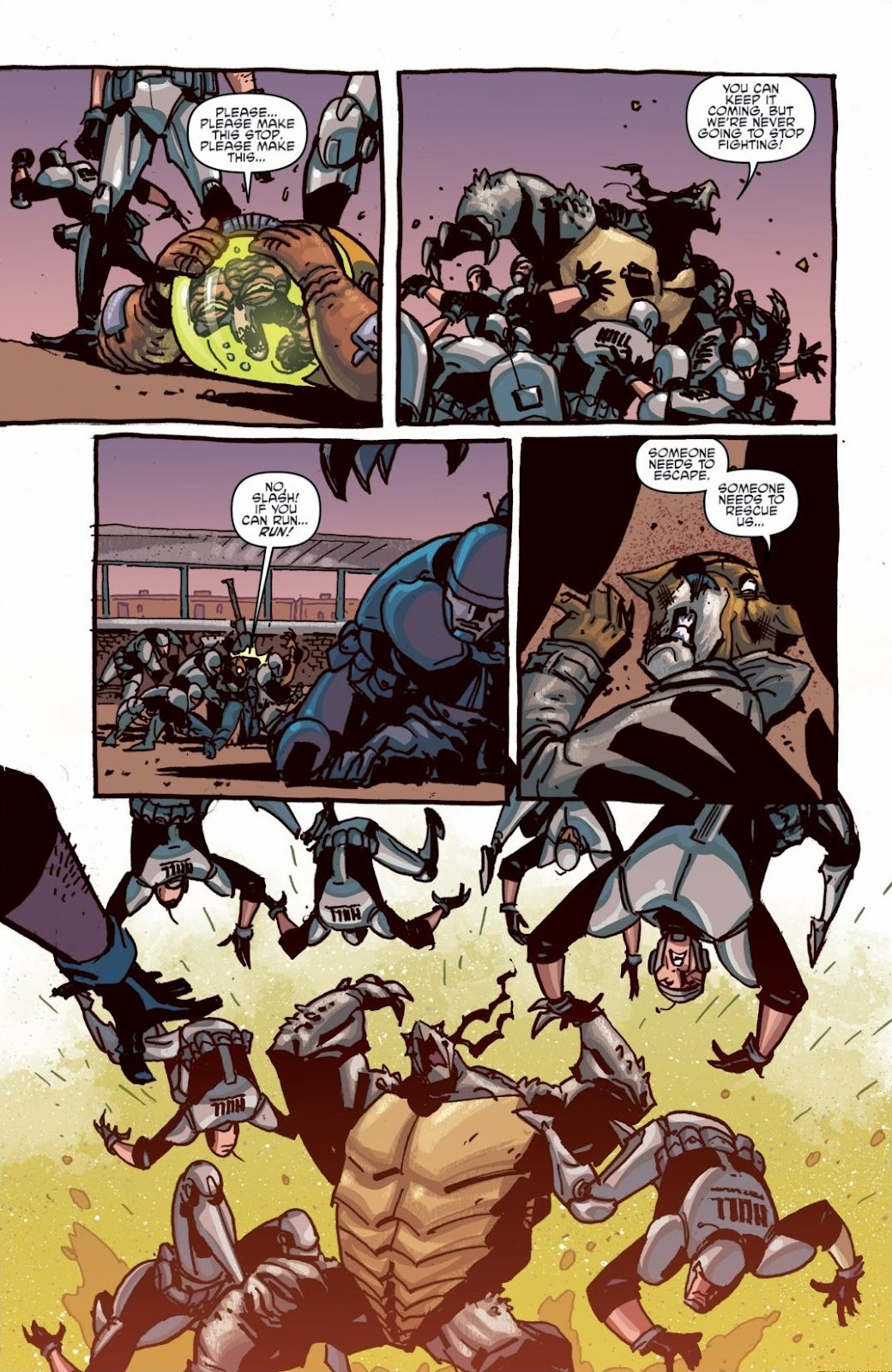 Read online Teenage Mutant Ninja Turtles: The IDW Collection comic -  Issue # TPB 6 (Part 1) - 48