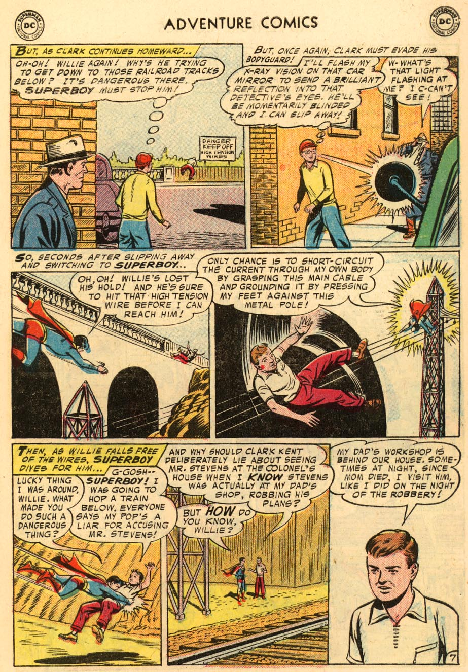 Read online Adventure Comics (1938) comic -  Issue #228 - 9