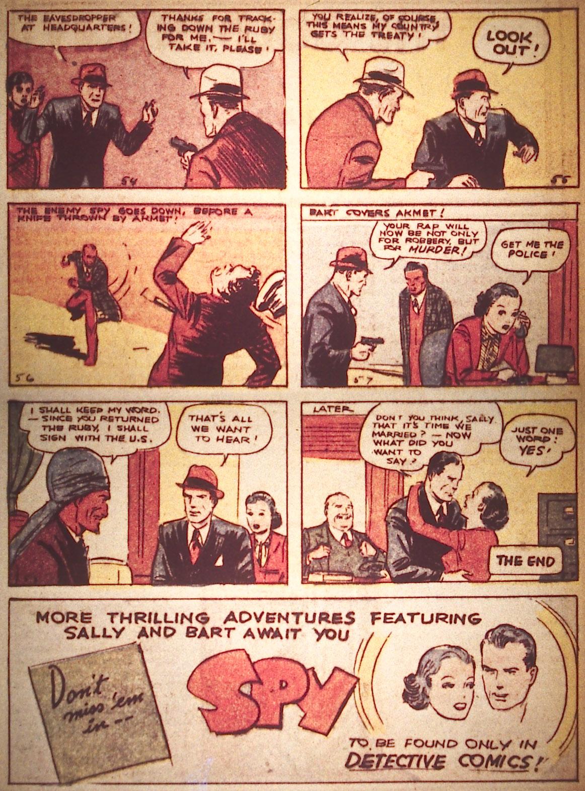 Read online Detective Comics (1937) comic -  Issue #18 - 33