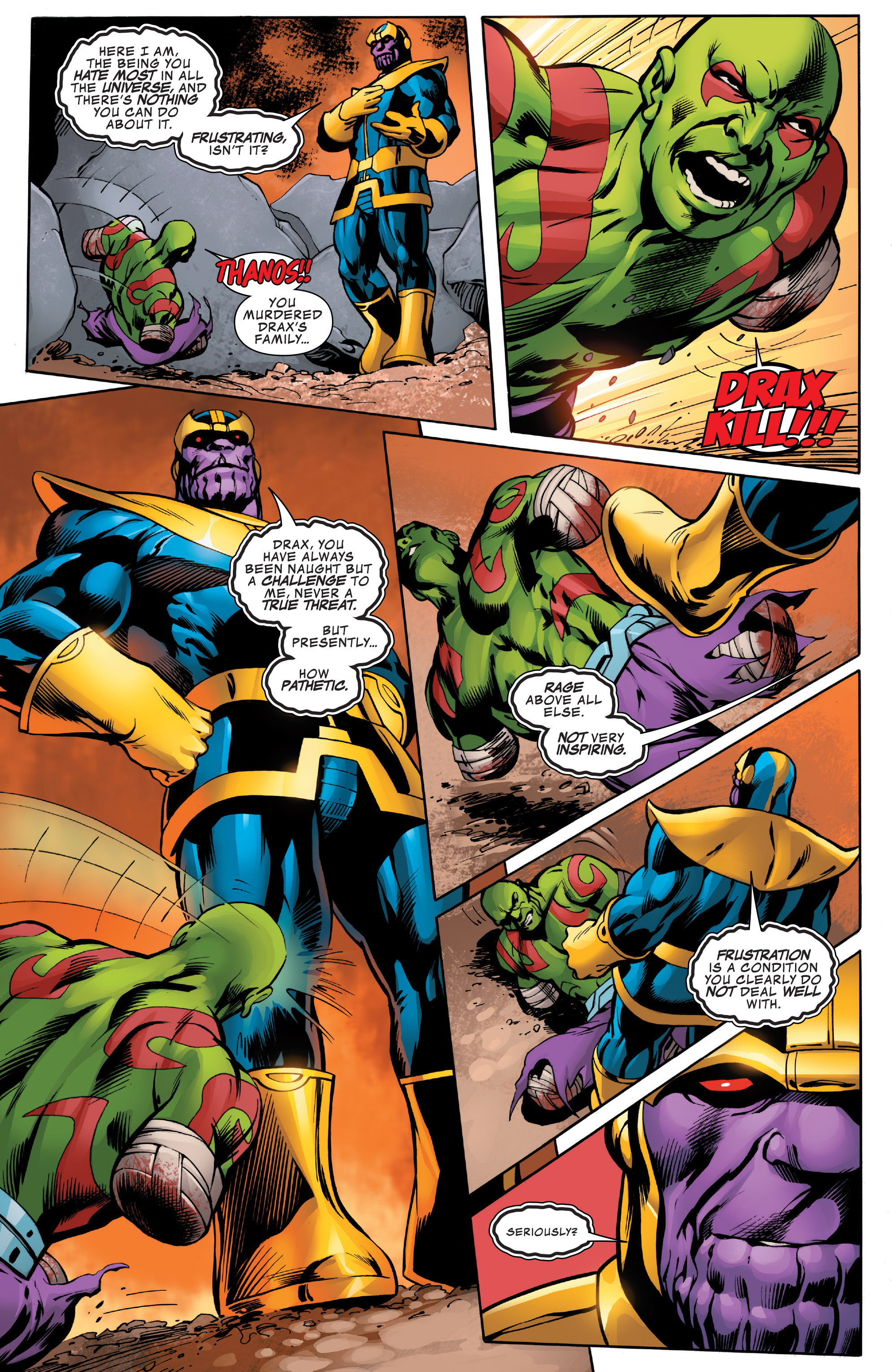 Read online Guardians of the Galaxy: Mother Entropy comic -  Issue #2 - 9