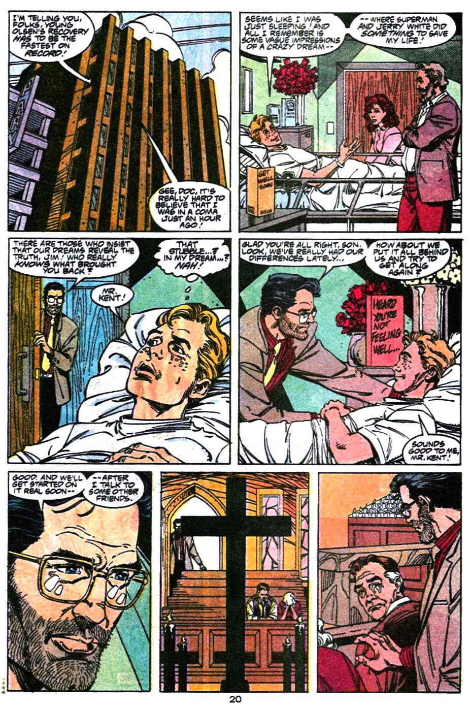 Read online Adventures of Superman (1987) comic -  Issue #470 - 21