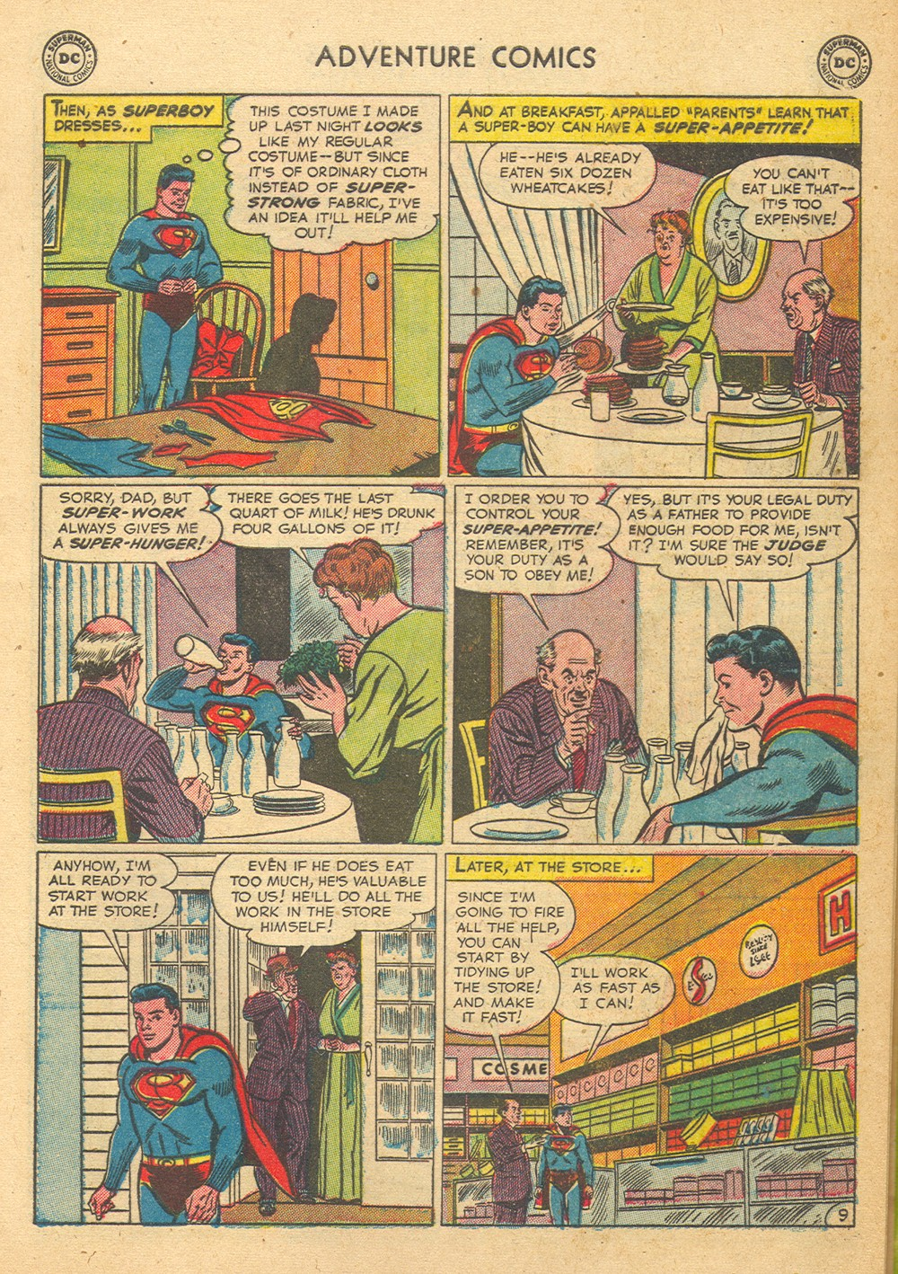 Read online Adventure Comics (1938) comic -  Issue #176 - 11