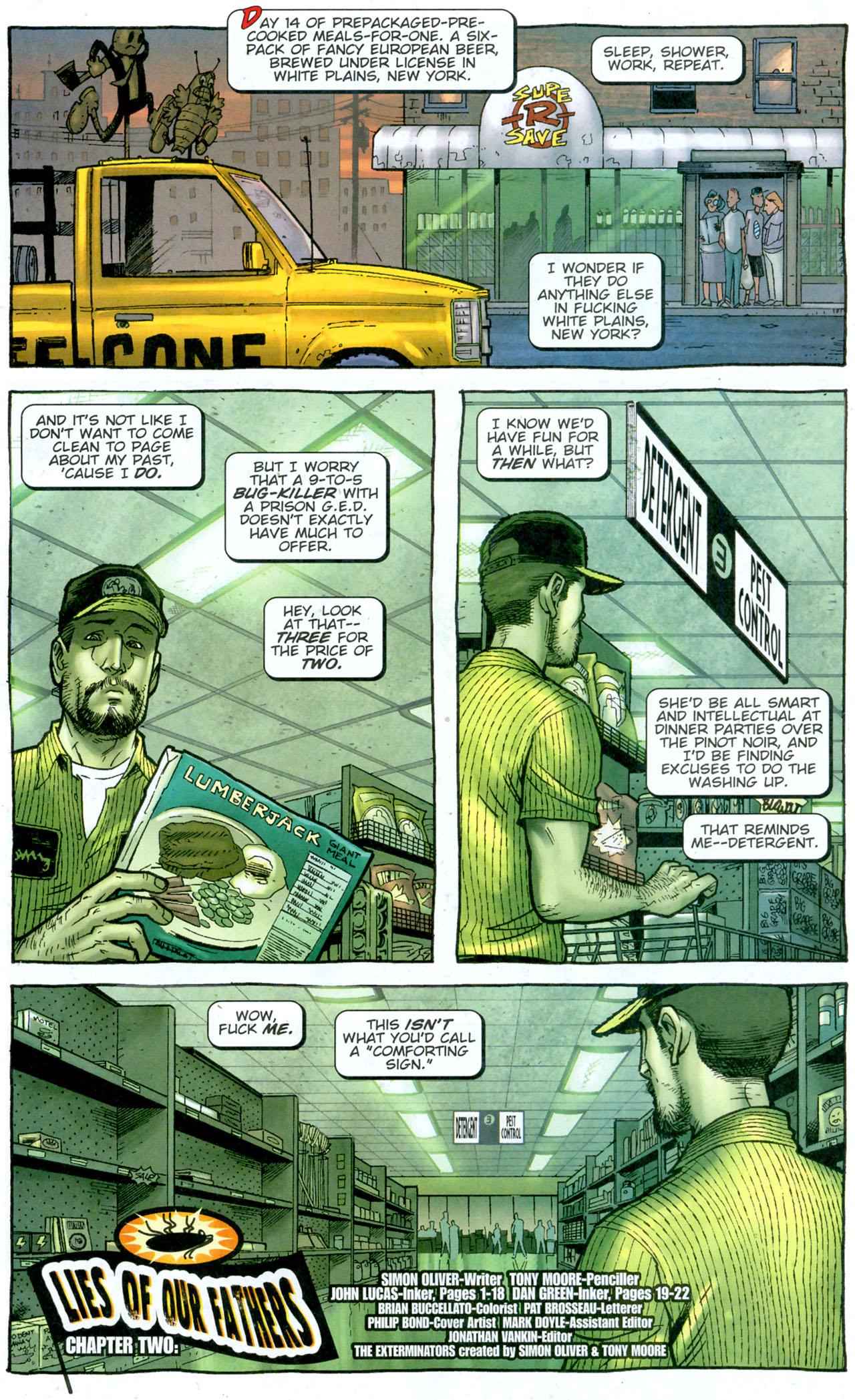 Read online The Exterminators comic -  Issue #14 - 2