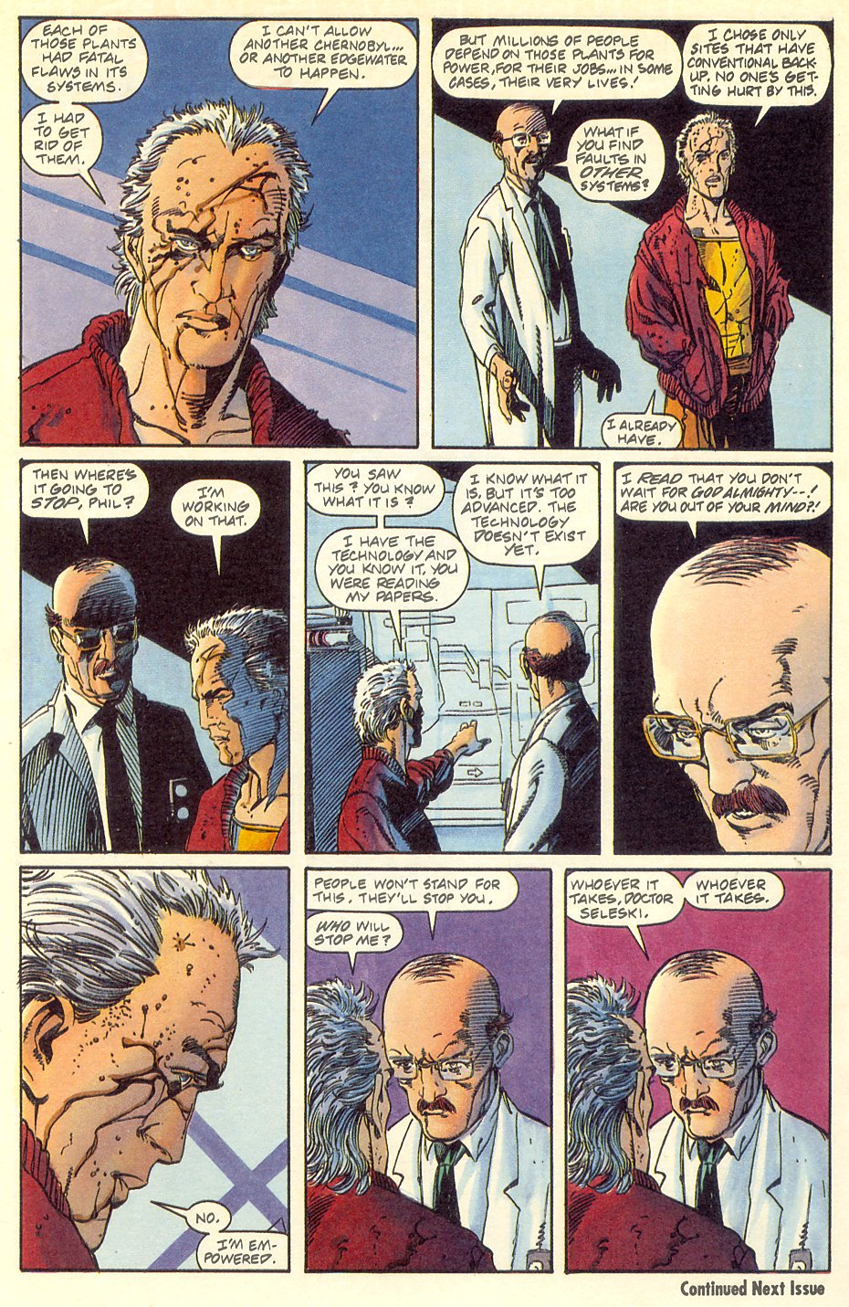 Read online Solar, Man of the Atom comic -  Issue #7 - 25