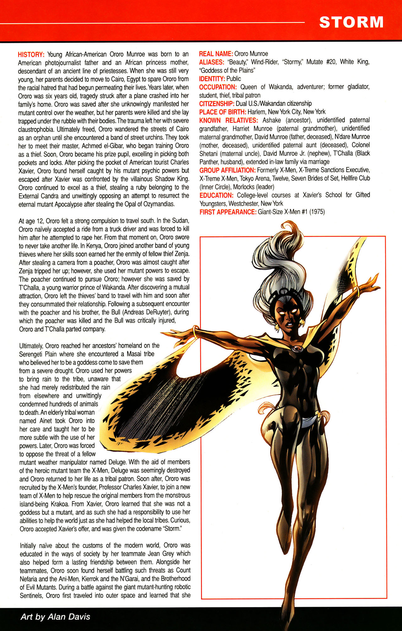 Read online All-New Official Handbook of the Marvel Universe A to Z: Update comic -  Issue #1 - 54