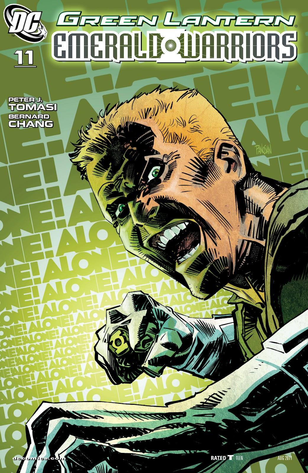 Green Lantern: Emerald Warriors 11 Page 1
