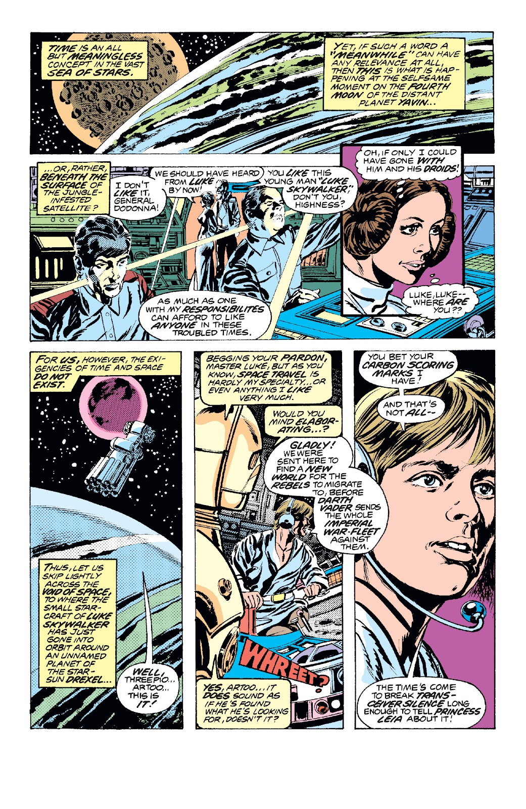 Read online Star Wars Legends: The Original Marvel Years - Epic Collection comic -  Issue # TPB 1 (Part 2) - 61