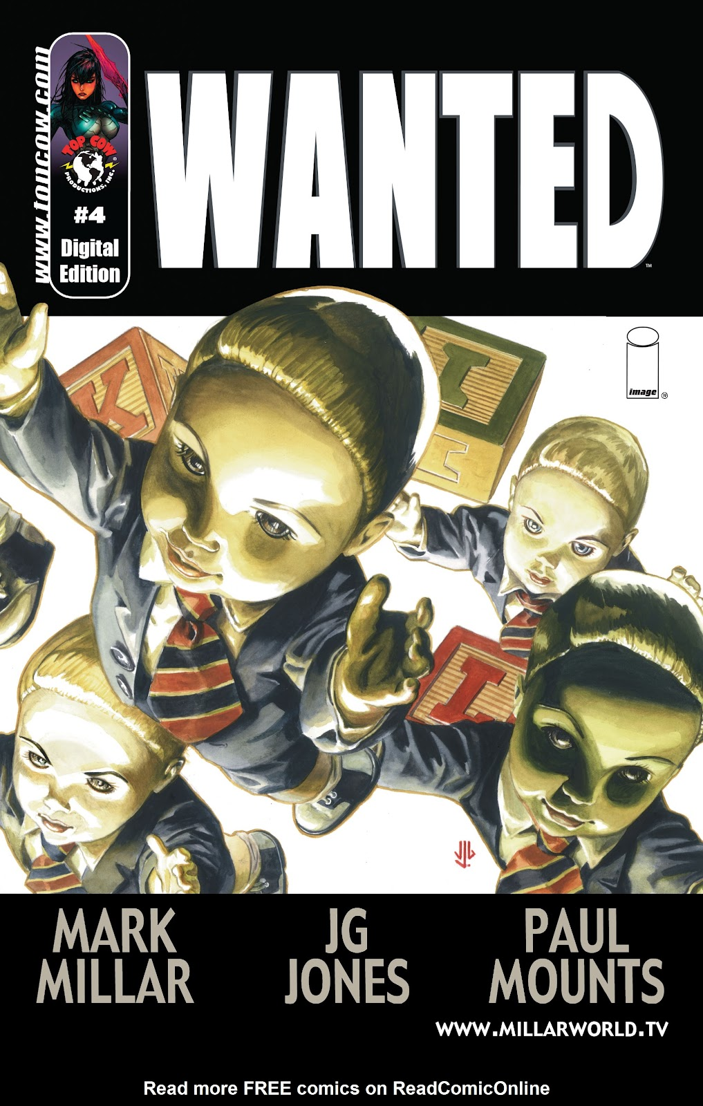 Wanted (2003) issue 4 - Page 1