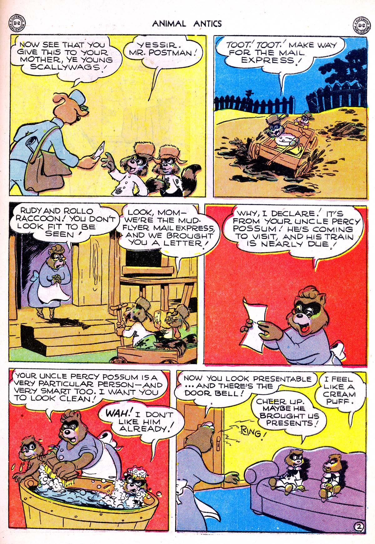Read online Animal Antics comic -  Issue #1 - 45