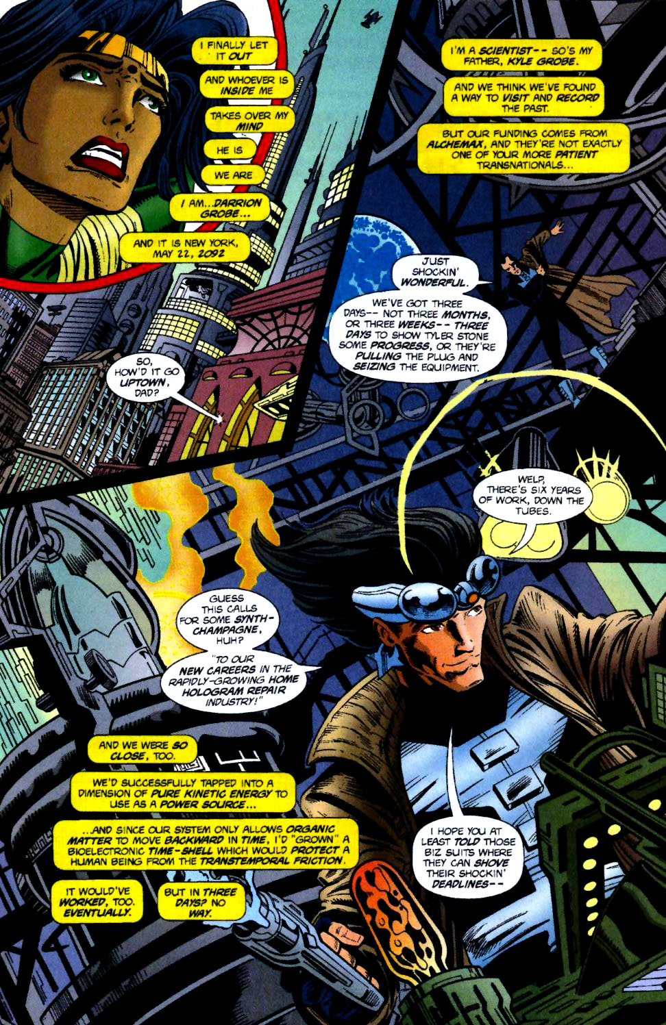 The New Warriors Issue #70 #74 - English 8