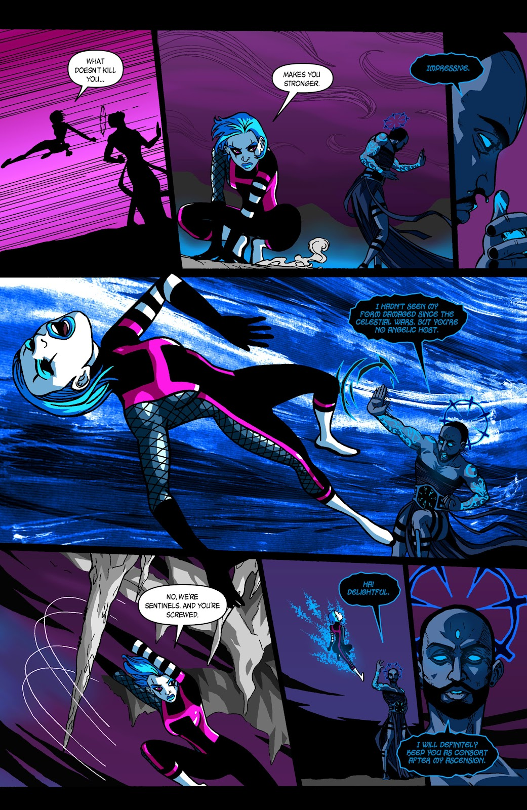 Sentinels issue 3 - Page 3