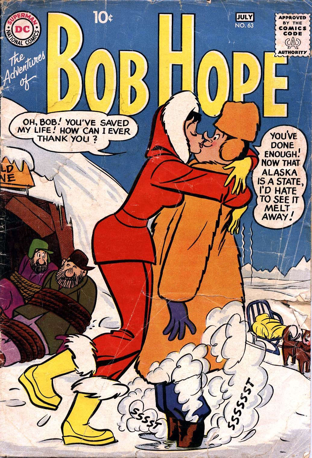 The Adventures of Bob Hope 63 Page 1