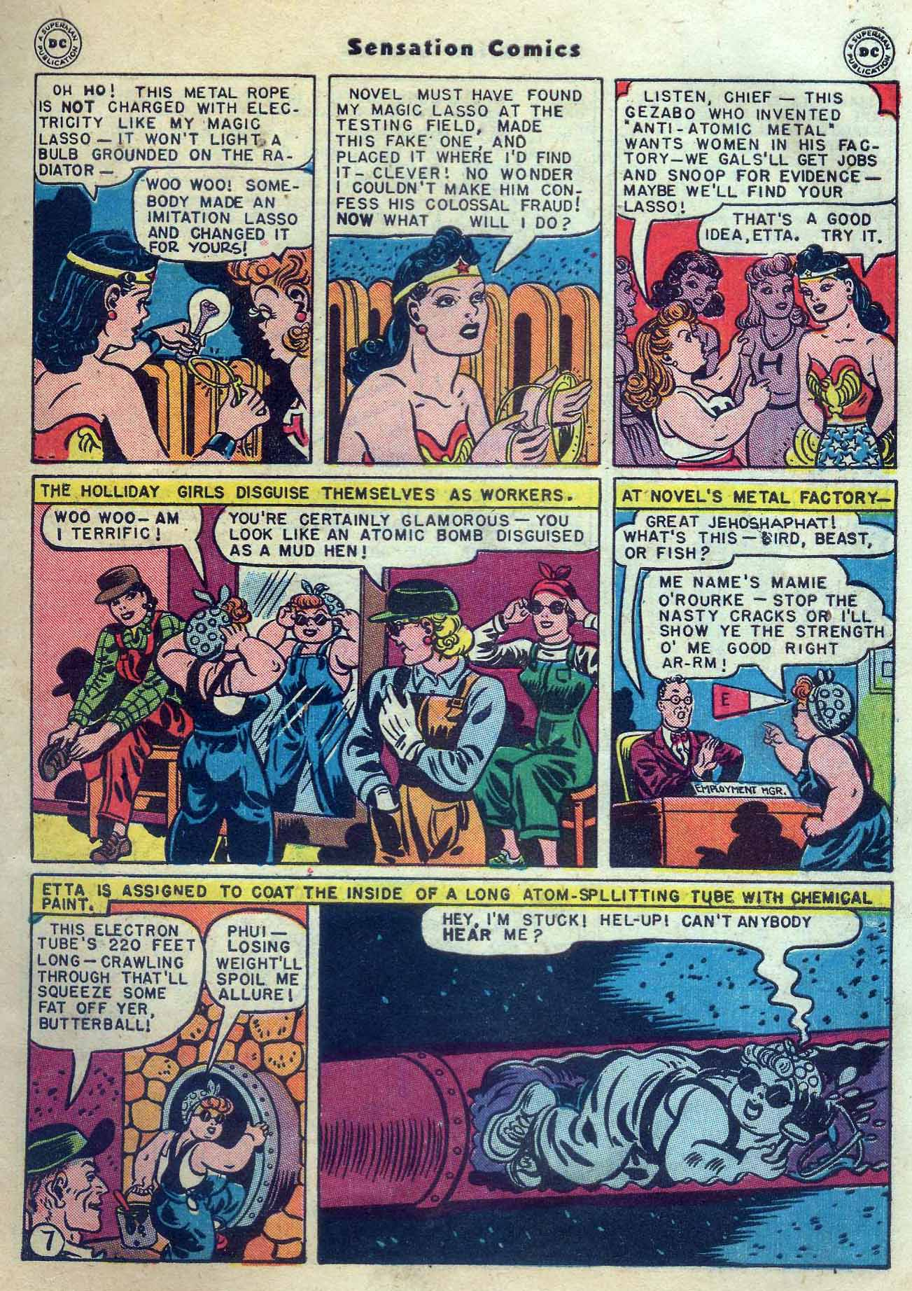 Read online Sensation (Mystery) Comics comic -  Issue #56 - 9