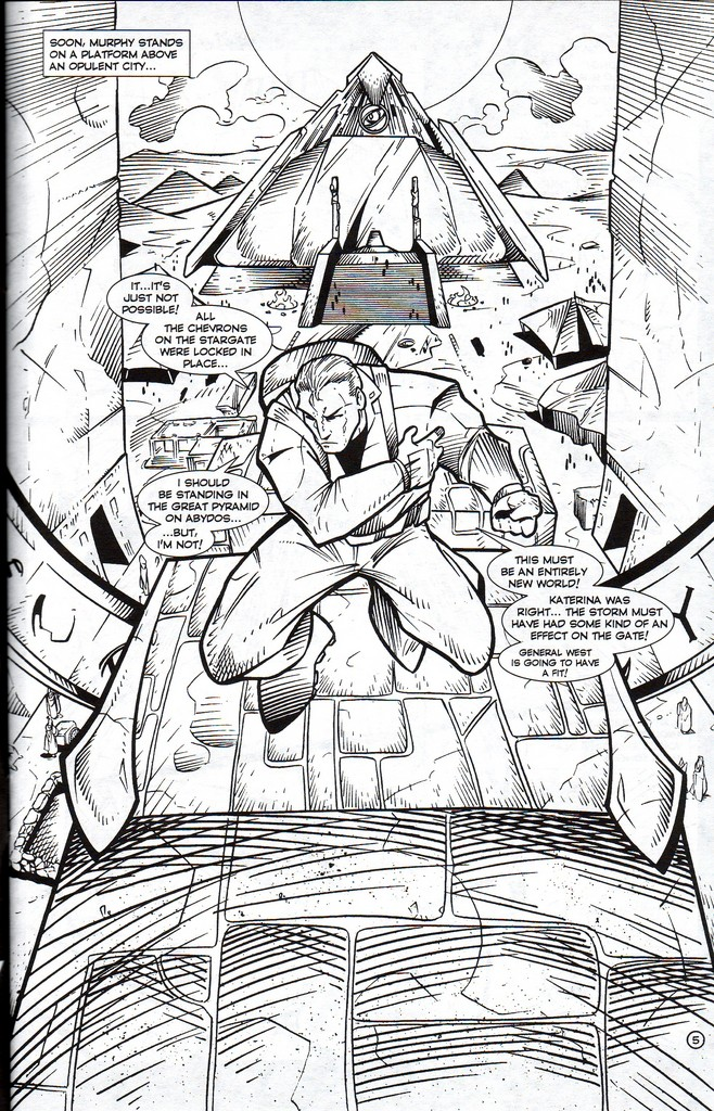 Read online Stargate: One Nation Under Ra comic -  Issue # Full - 7