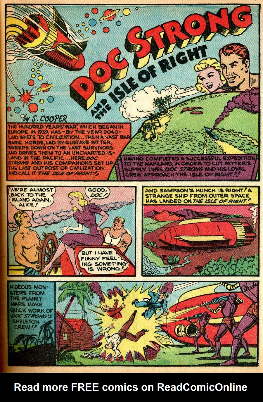 Blue Ribbon Comics (1939) issue 8 - Page 49