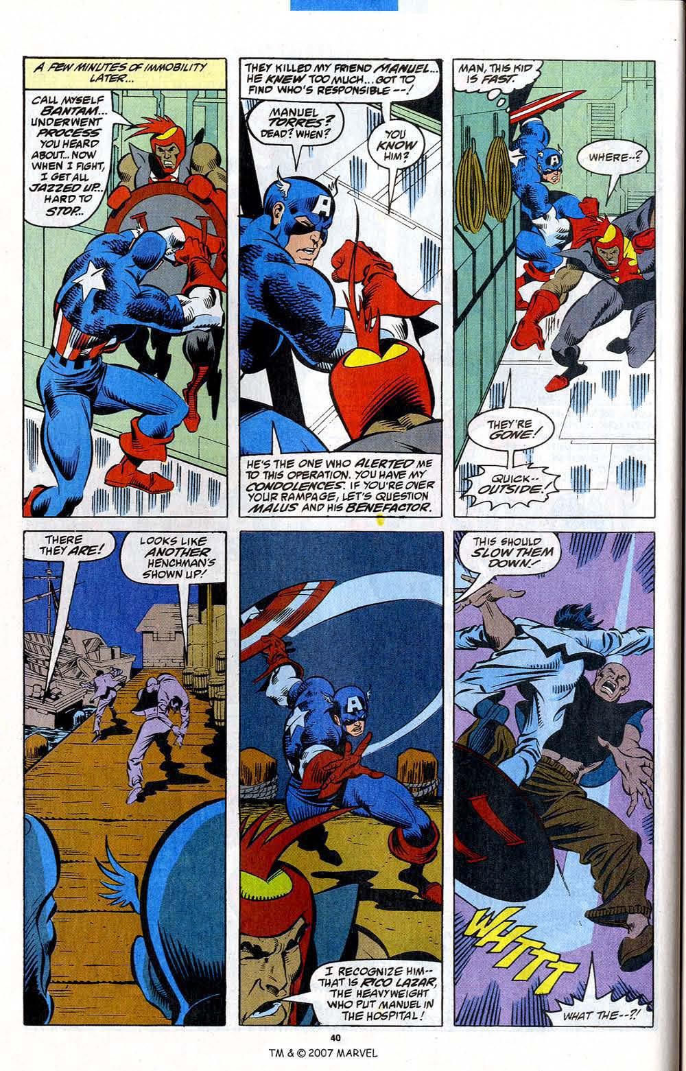 Read online Captain America (1968) comic -  Issue # _Annual 12 - 42