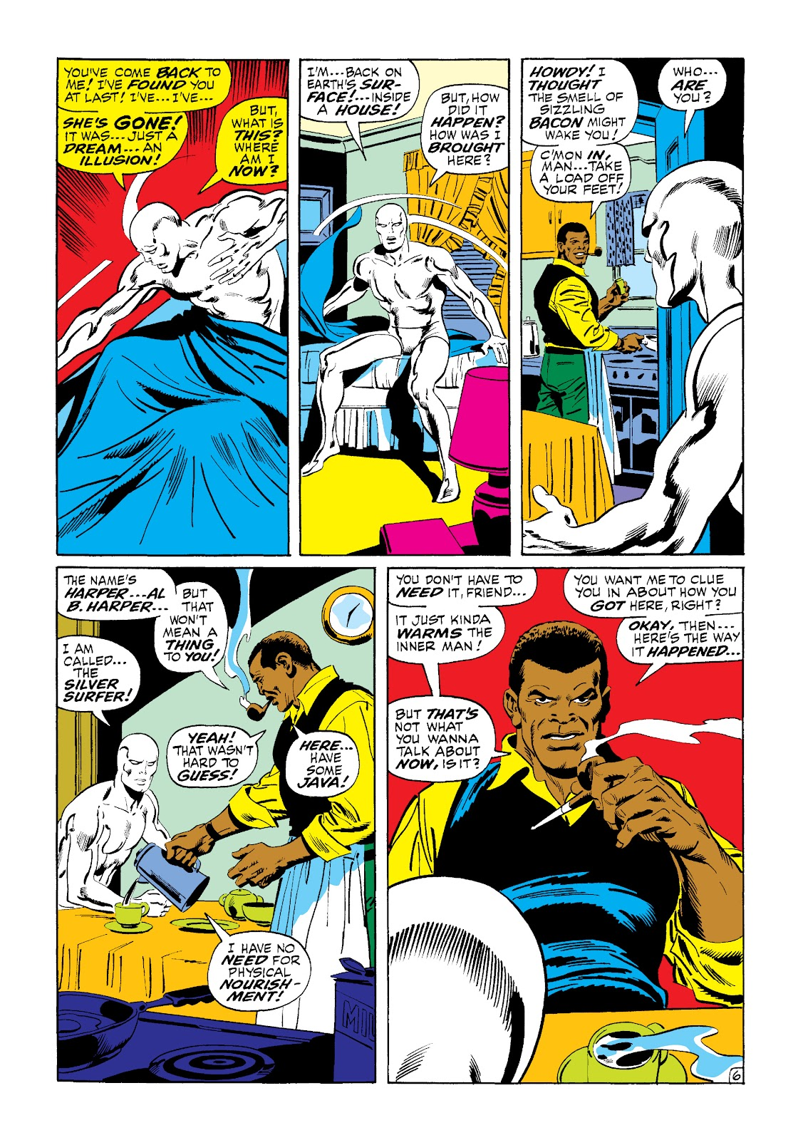 Read online Marvel Masterworks: The Silver Surfer comic - Issue # TPB 1 (Part 2) - 74