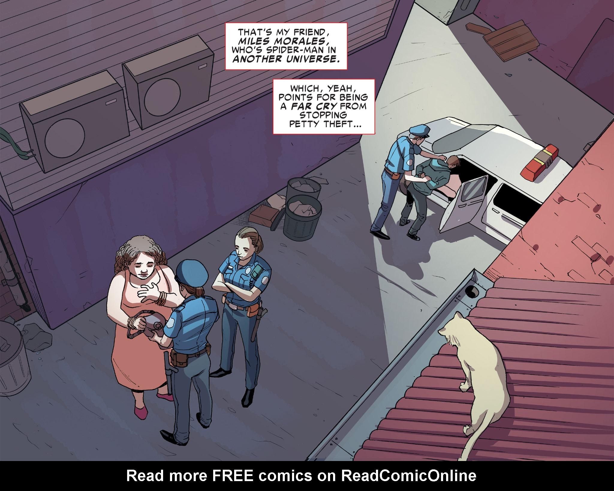 Read online Ultimate Spider-Man (Infinite Comics) (2016) comic -  Issue #8 - 18