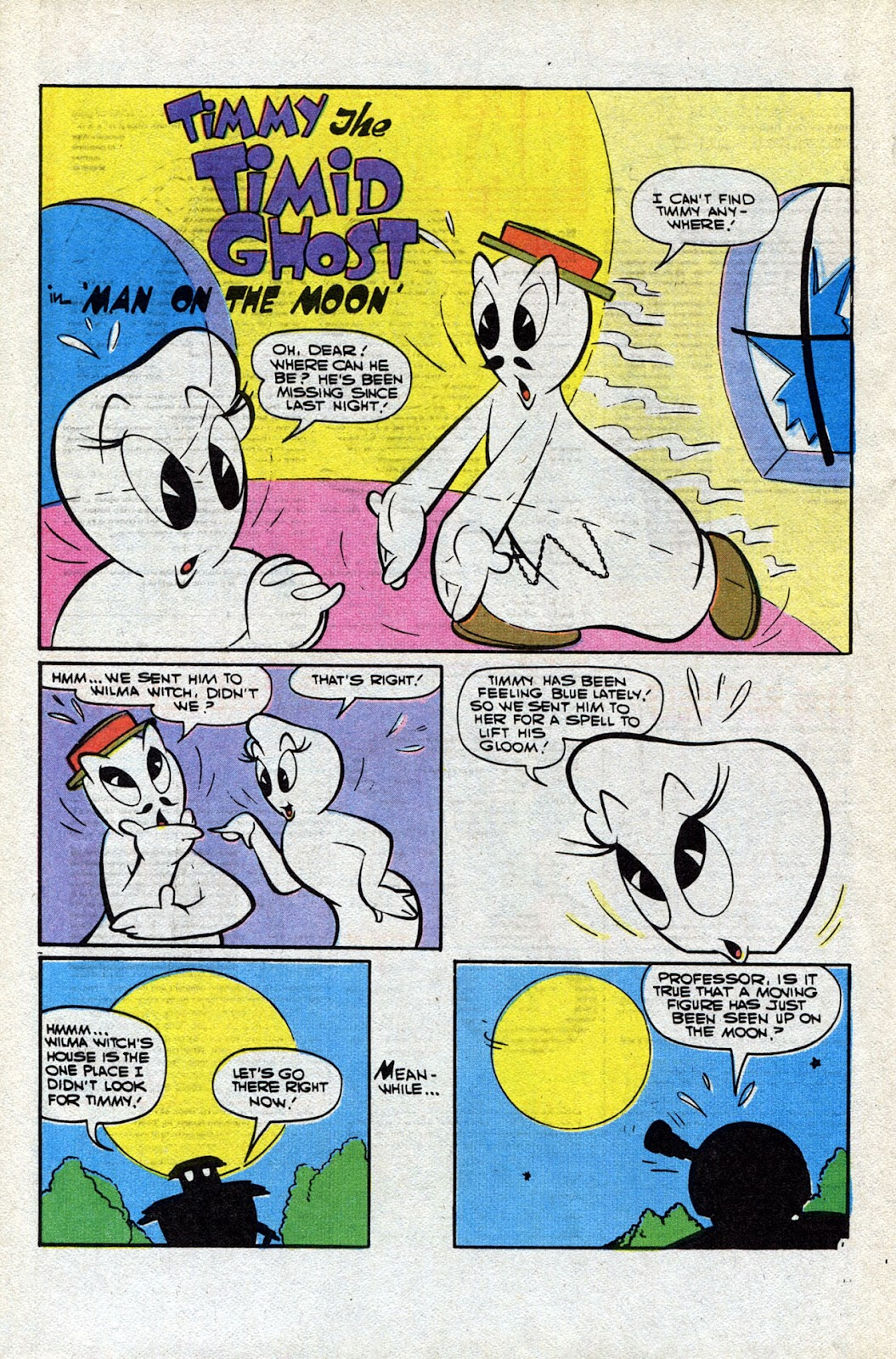 Read online Timmy the Timid Ghost comic -  Issue #25 - 16