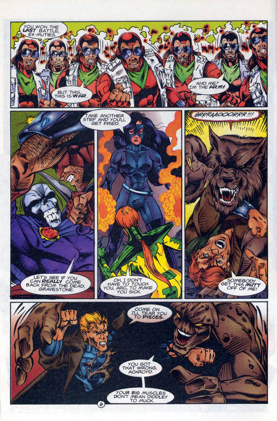 Read online Ex-Mutants comic -  Issue #18 - 7