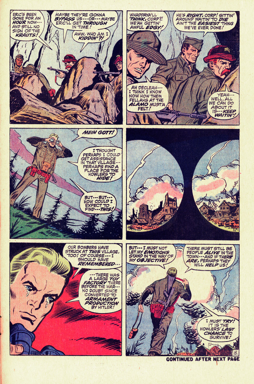 Read online Sgt. Fury comic -  Issue #96 - 21
