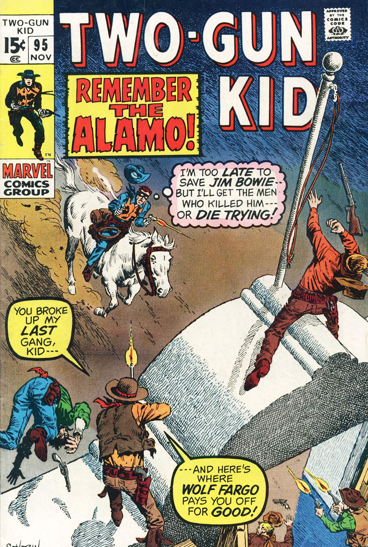 Read online Two-Gun Kid comic -  Issue #95 - 1