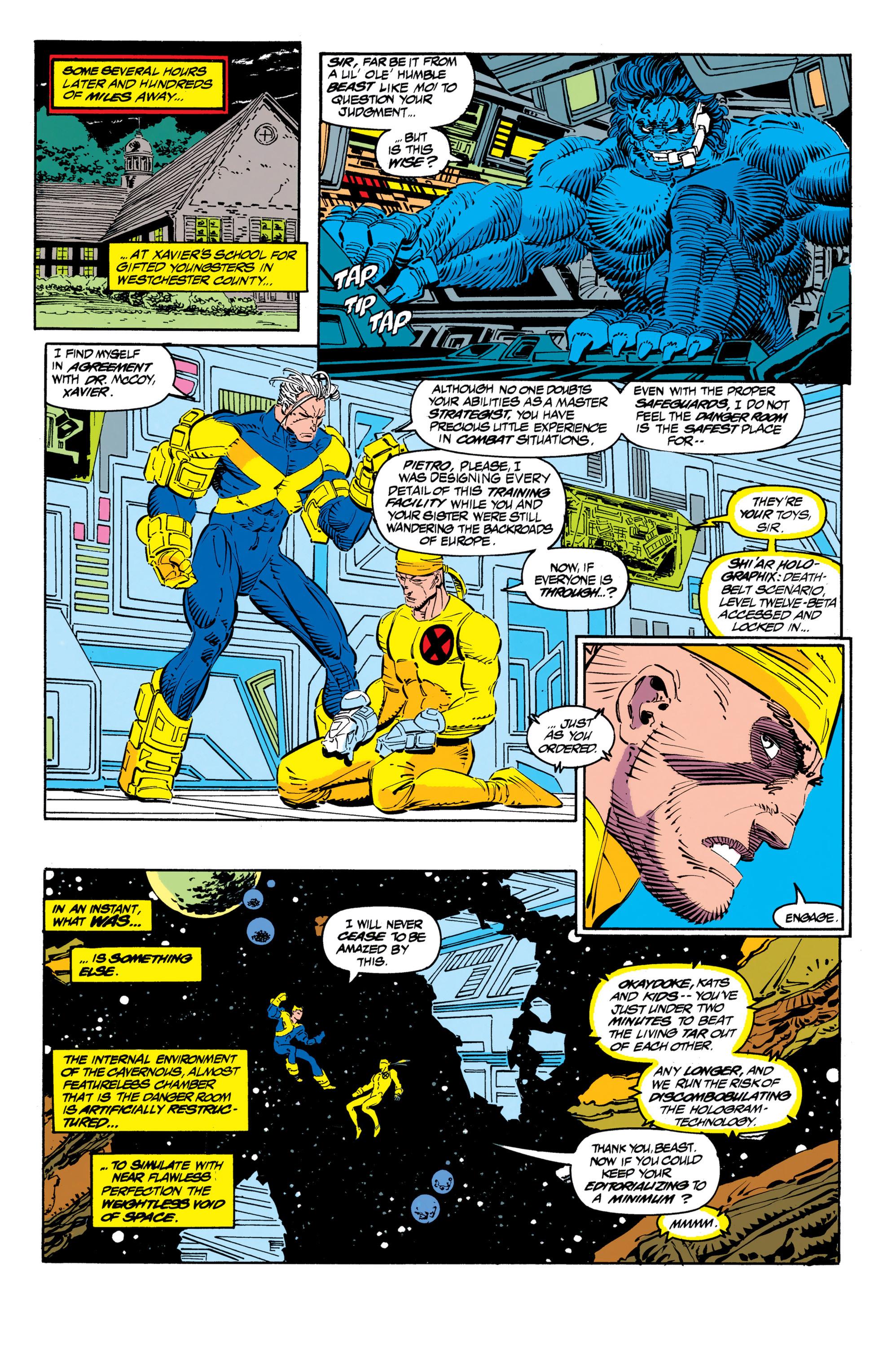 Read online Uncanny X-Men (1963) comic -  Issue #306 - 6