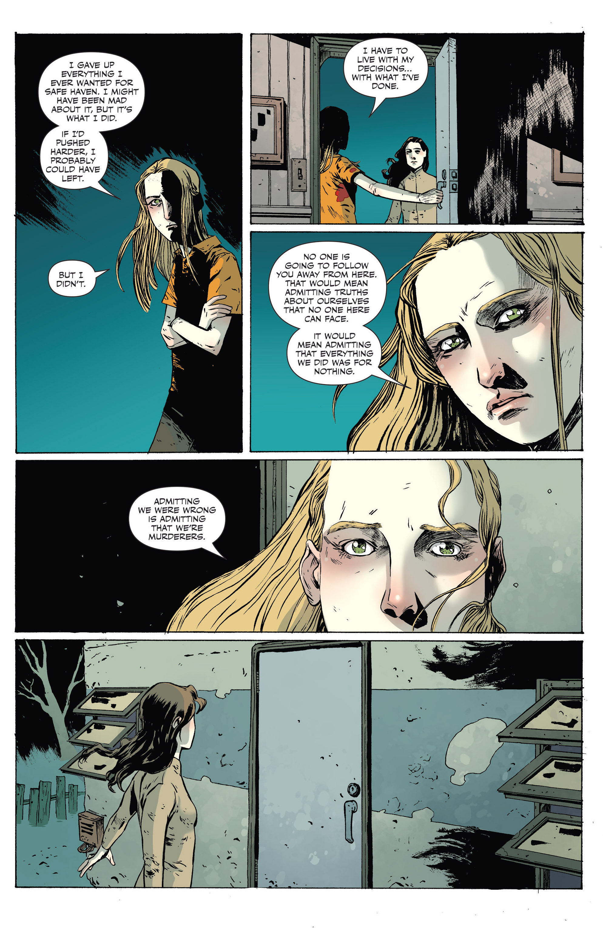 Read online Sheltered comic -  Issue #9 - 6