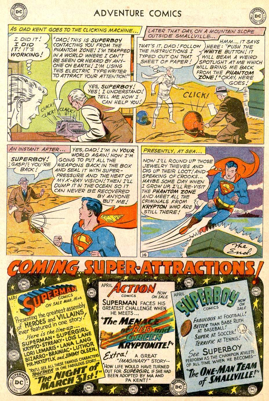 Read online Adventure Comics (1938) comic -  Issue #283 - 16
