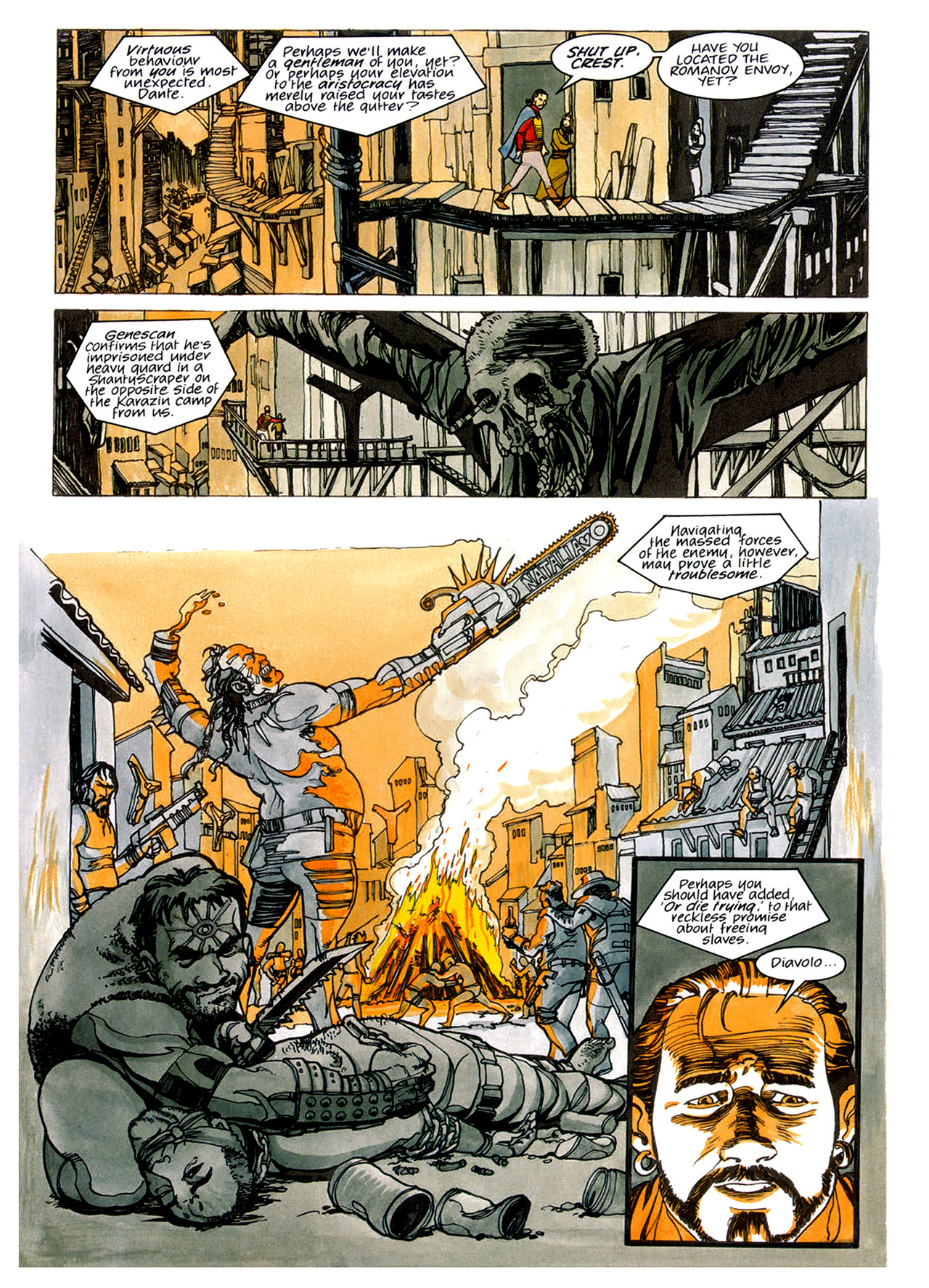 Read online Nikolai Dante comic -  Issue # TPB 1 - 69