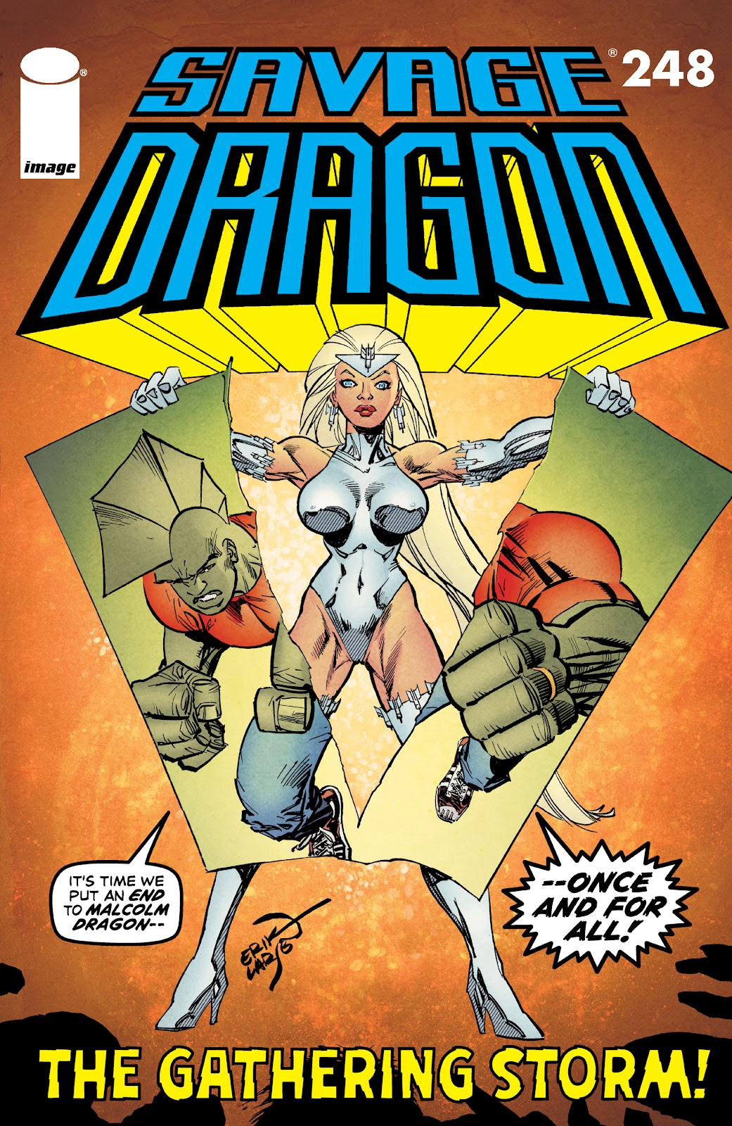 The Savage Dragon (1993) issue 248 - Page 1
