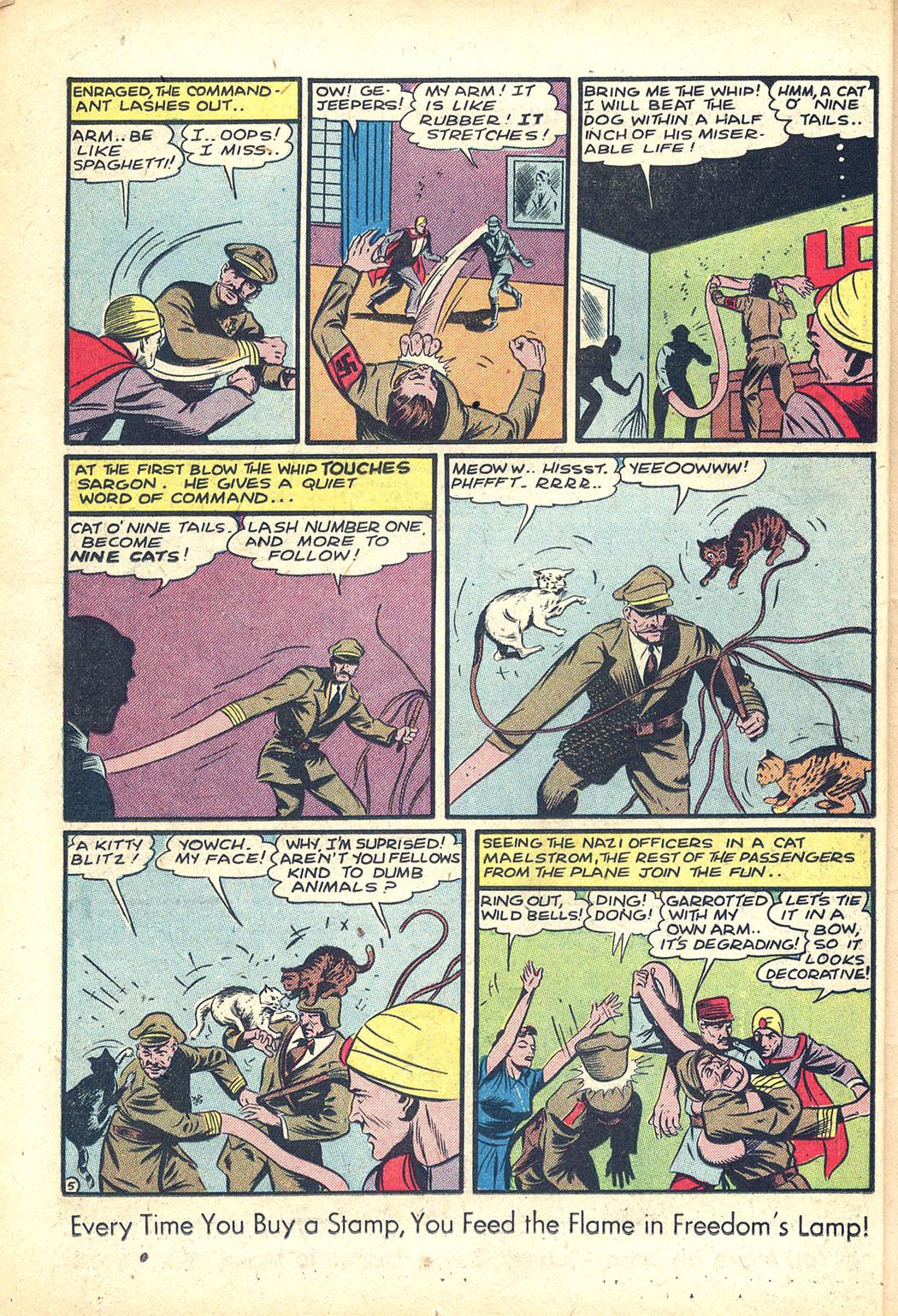 Read online Sensation (Mystery) Comics comic -  Issue #34 - 20