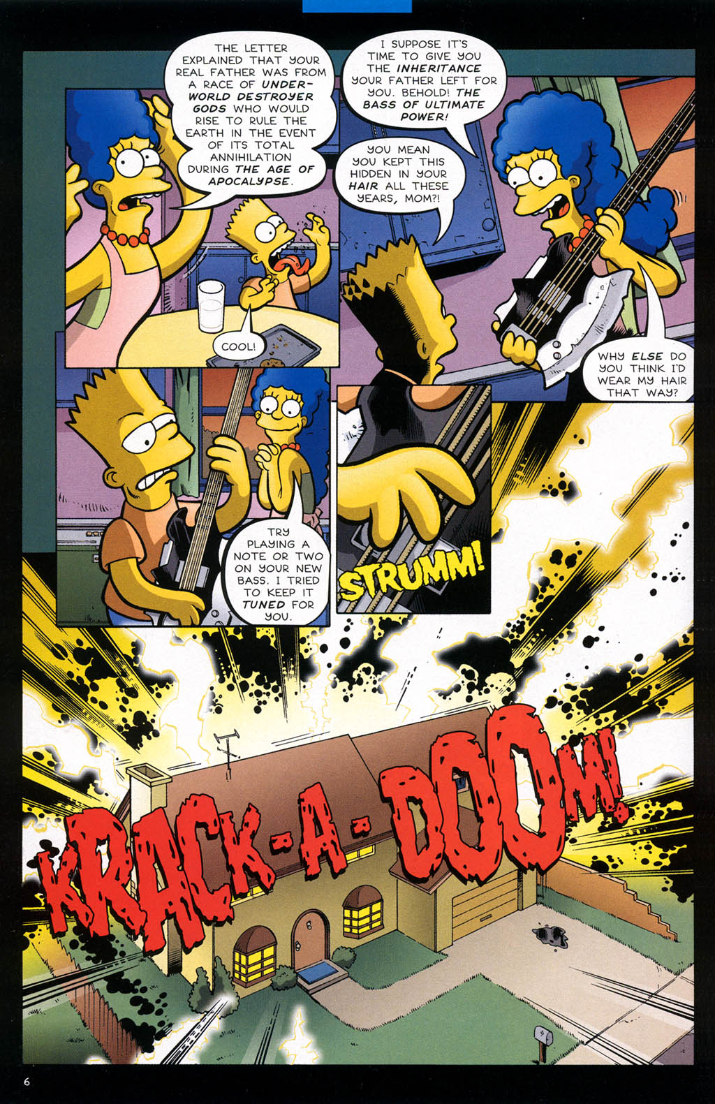 Read online Treehouse of Horror comic -  Issue #10 - 9