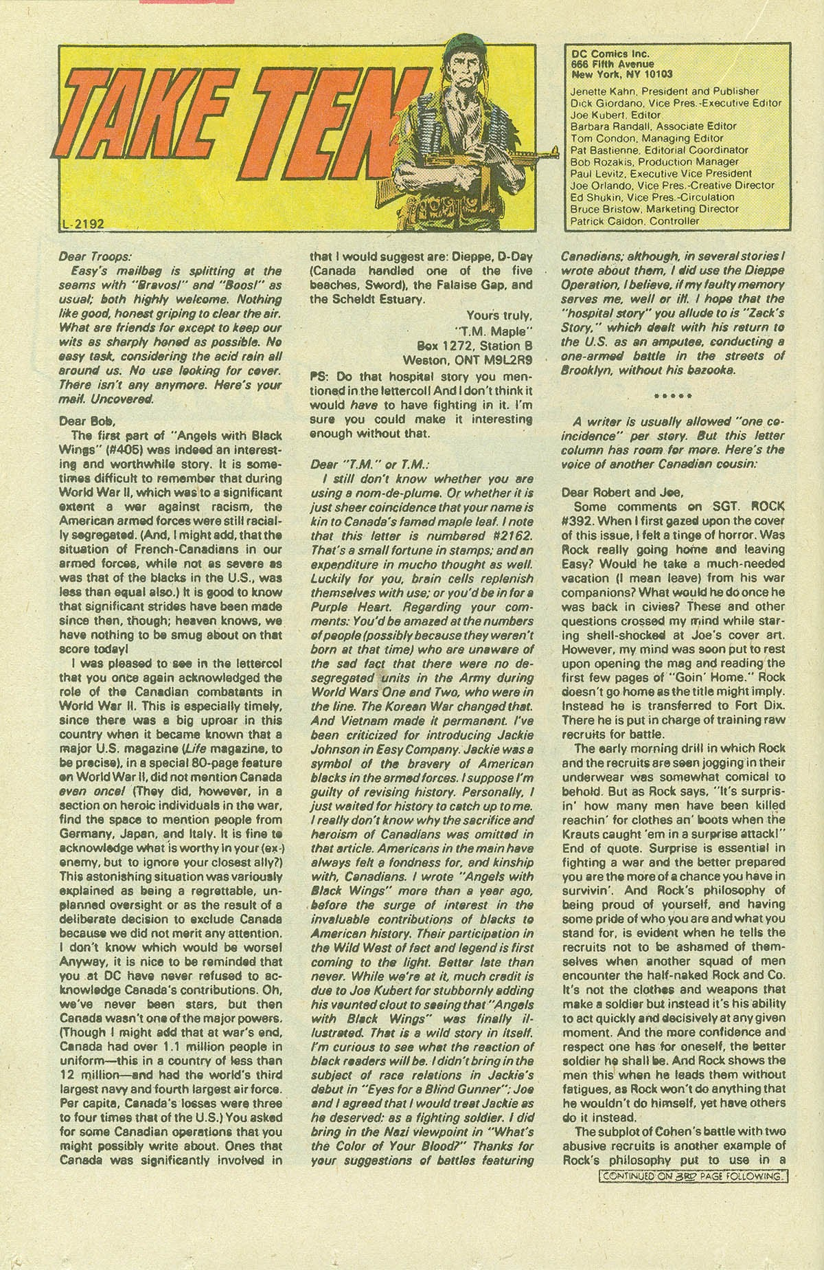 Read online Sgt. Rock comic -  Issue #409 - 21