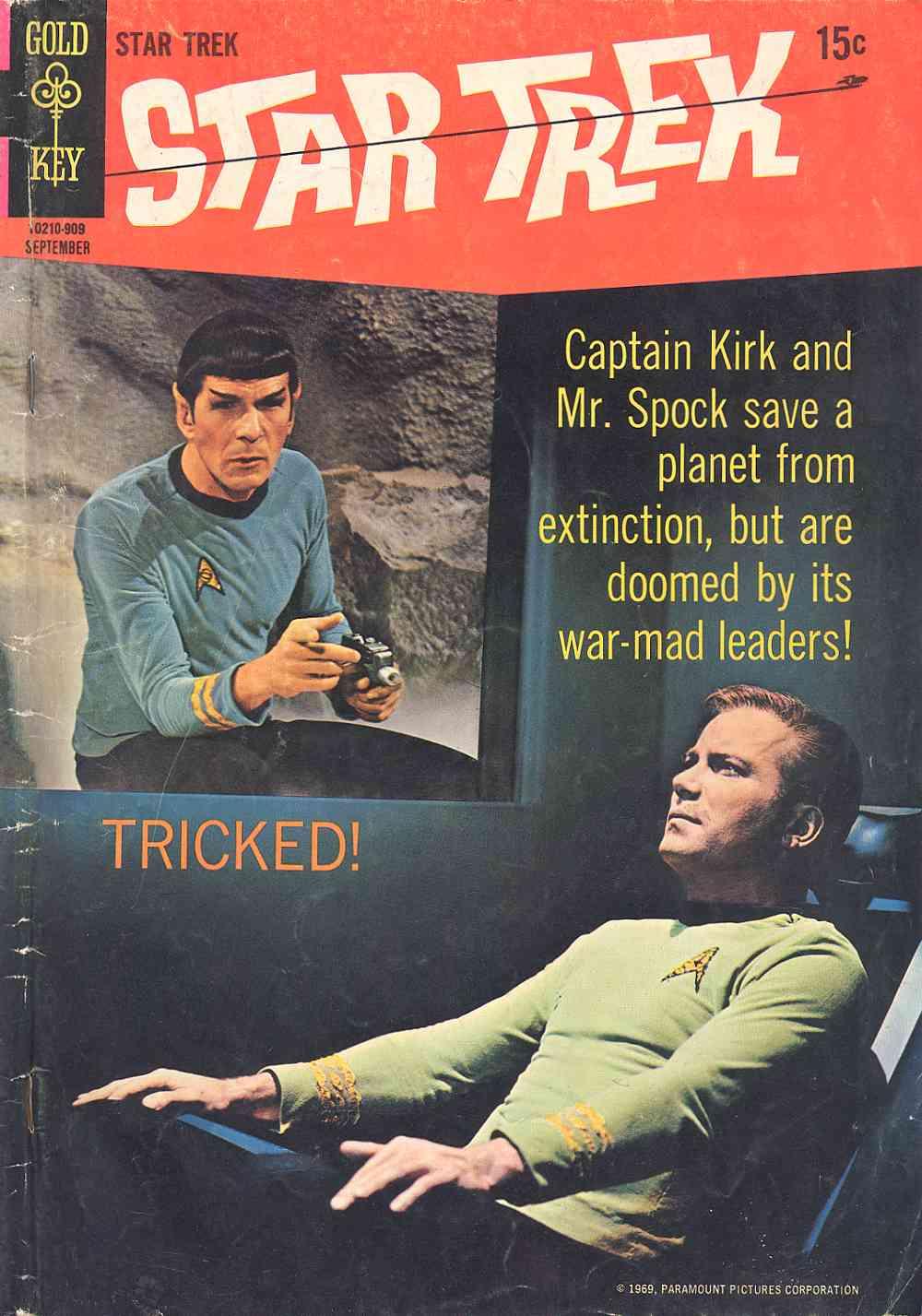 Star Trek (1967) issue 5 - Page 1